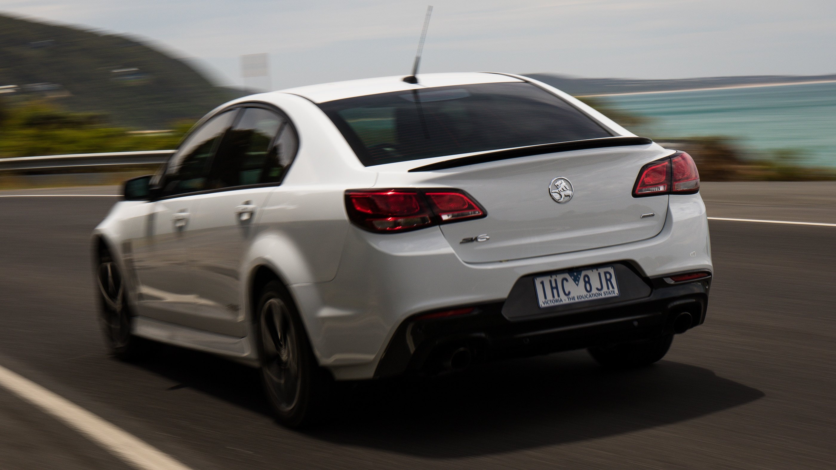 2016 Holden Commodore SV6 Black Edition review - photos | CarAdvice