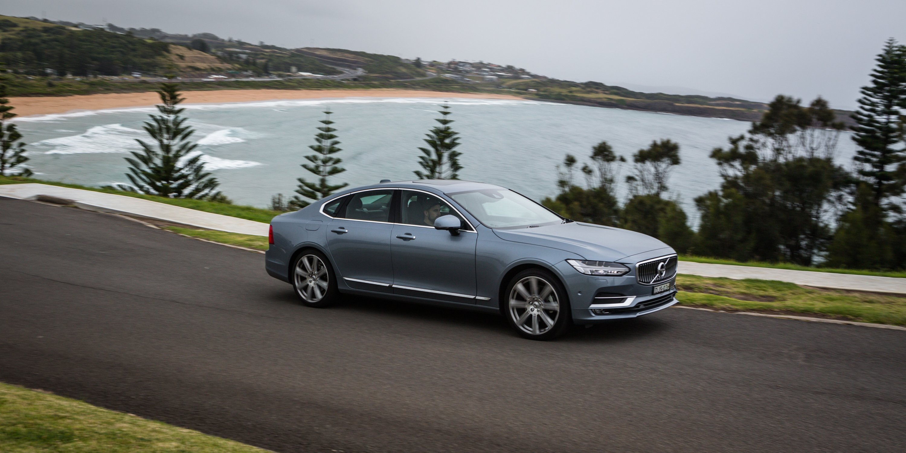 2017 volvo s90 d5 inscription review photos caradvice. Black Bedroom Furniture Sets. Home Design Ideas