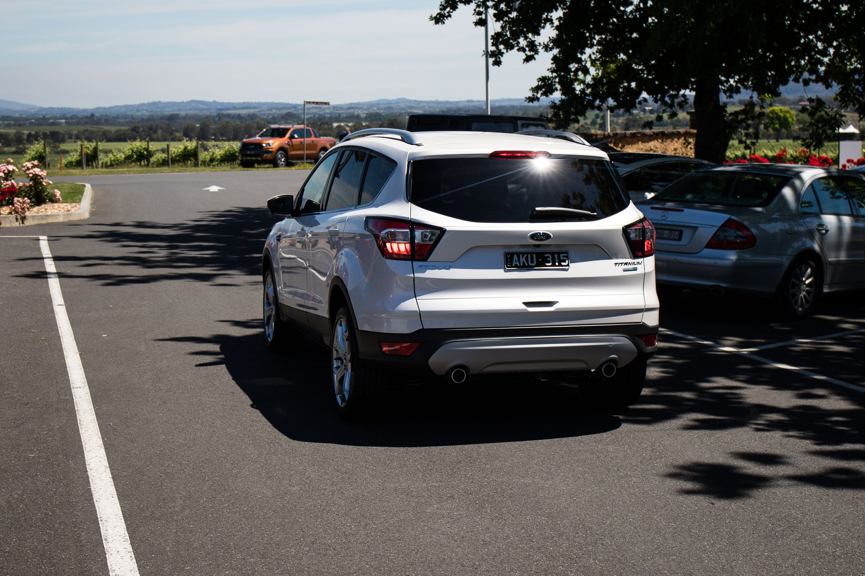 2017 ford escape review quick drive caradvice. Black Bedroom Furniture Sets. Home Design Ideas