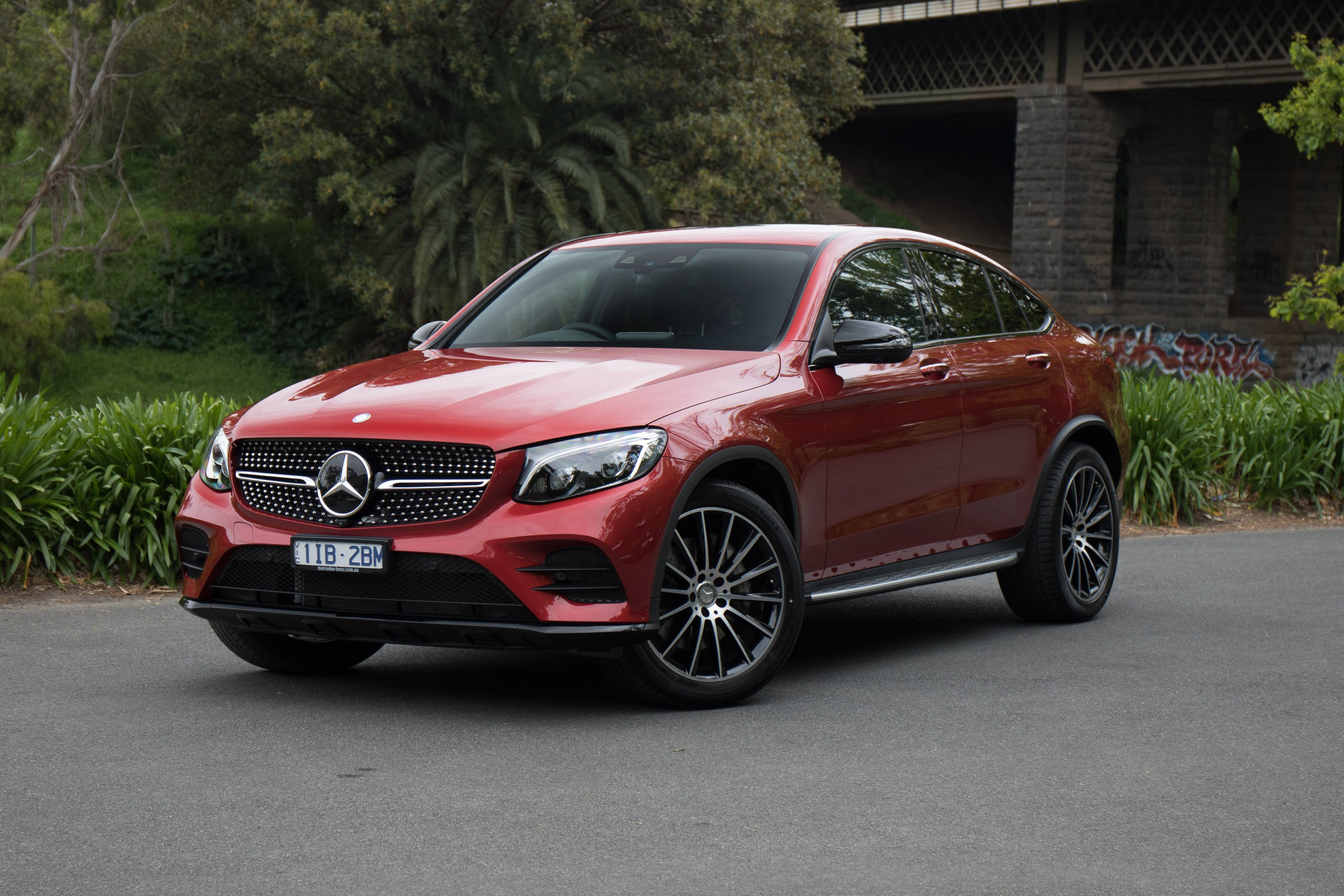 2017 Mercedes Benz Glc Coupe Review Photos Caradvice