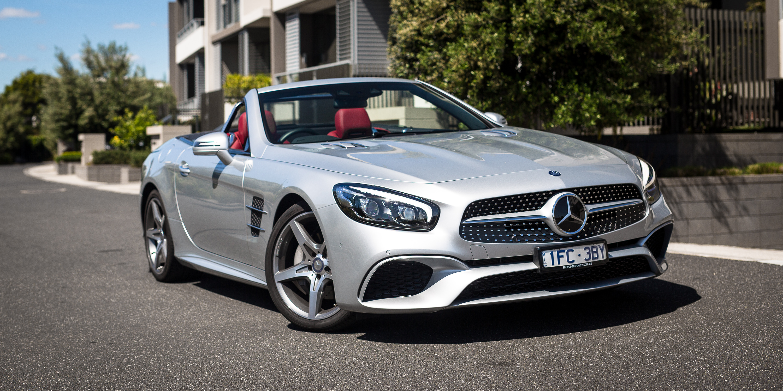 2017 mercedes benz sl400 review photos caradvice for Mercedes benz cars