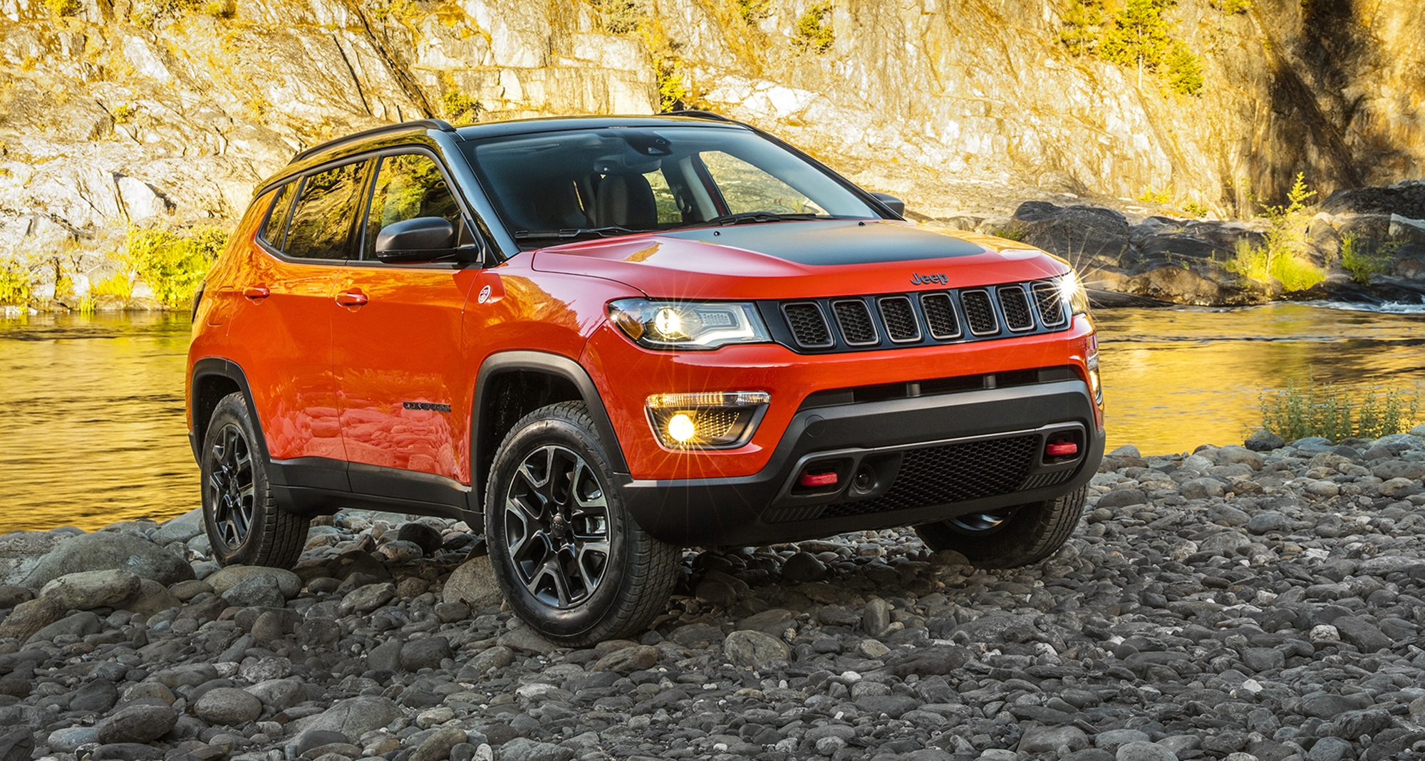 2018 Jeep Compass unveiled at LA motor show, here next ...