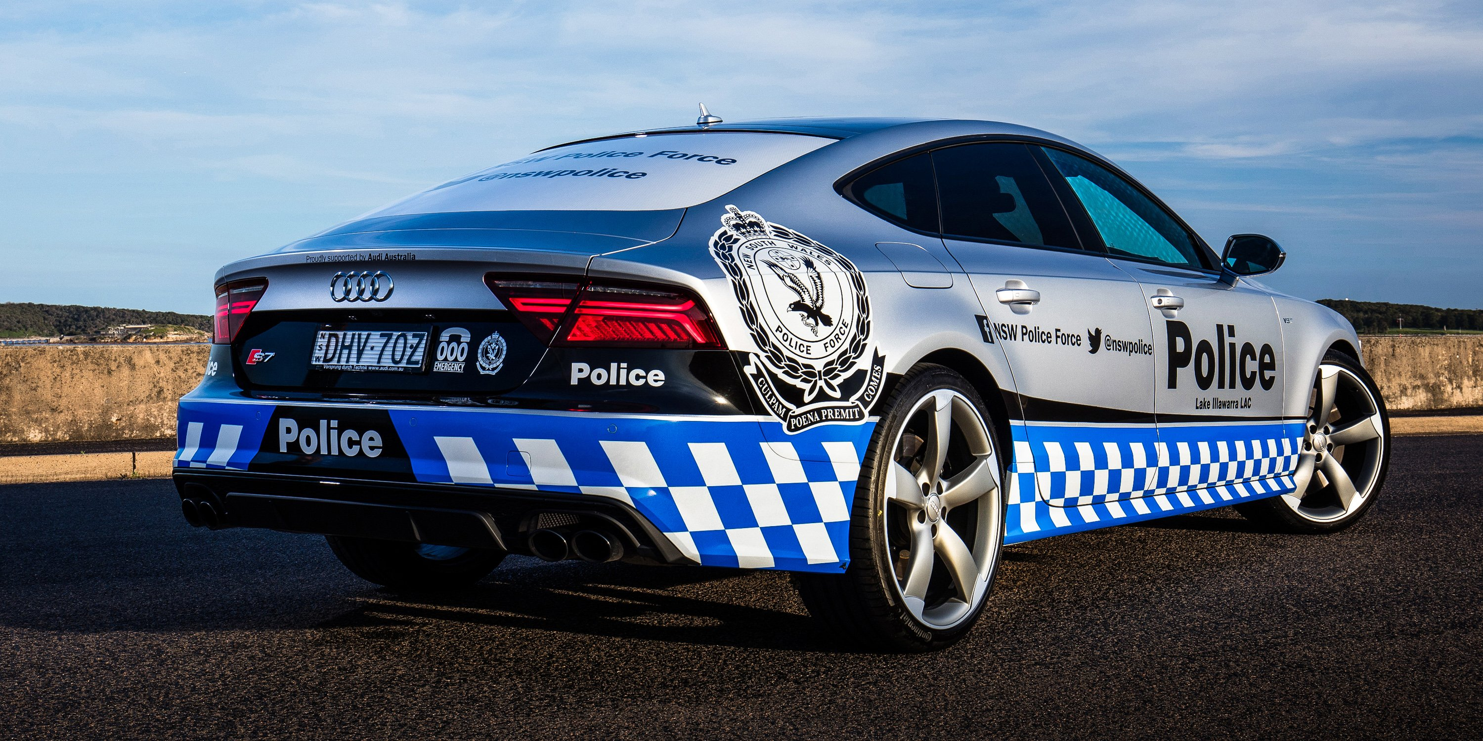 2016 Audi Q8 >> Audi S7 Sportback, BMW i8 to boost police profile - photos ...