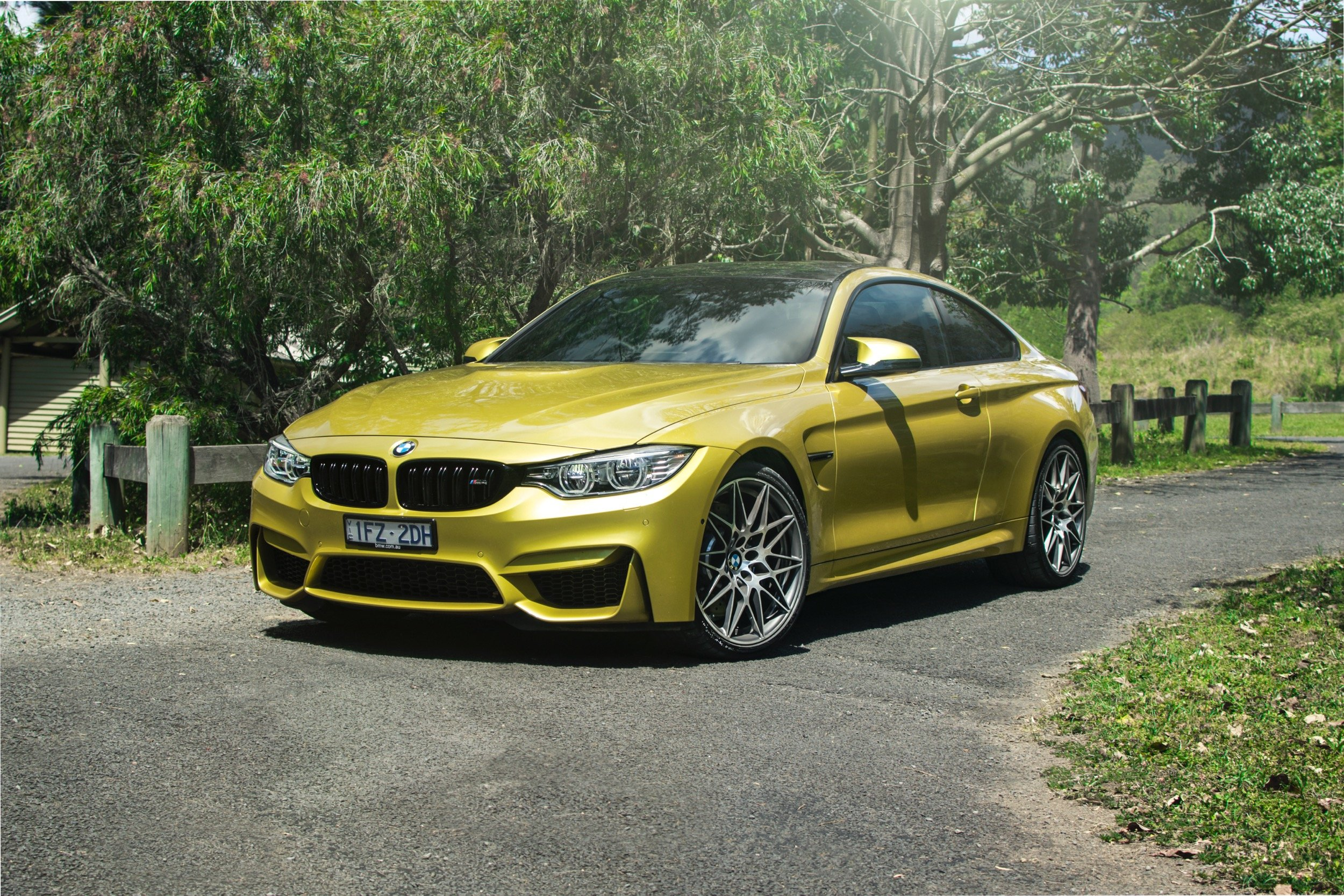 bmw m4 competition v mercedes amg c63 s coupe road comparison photos. Black Bedroom Furniture Sets. Home Design Ideas