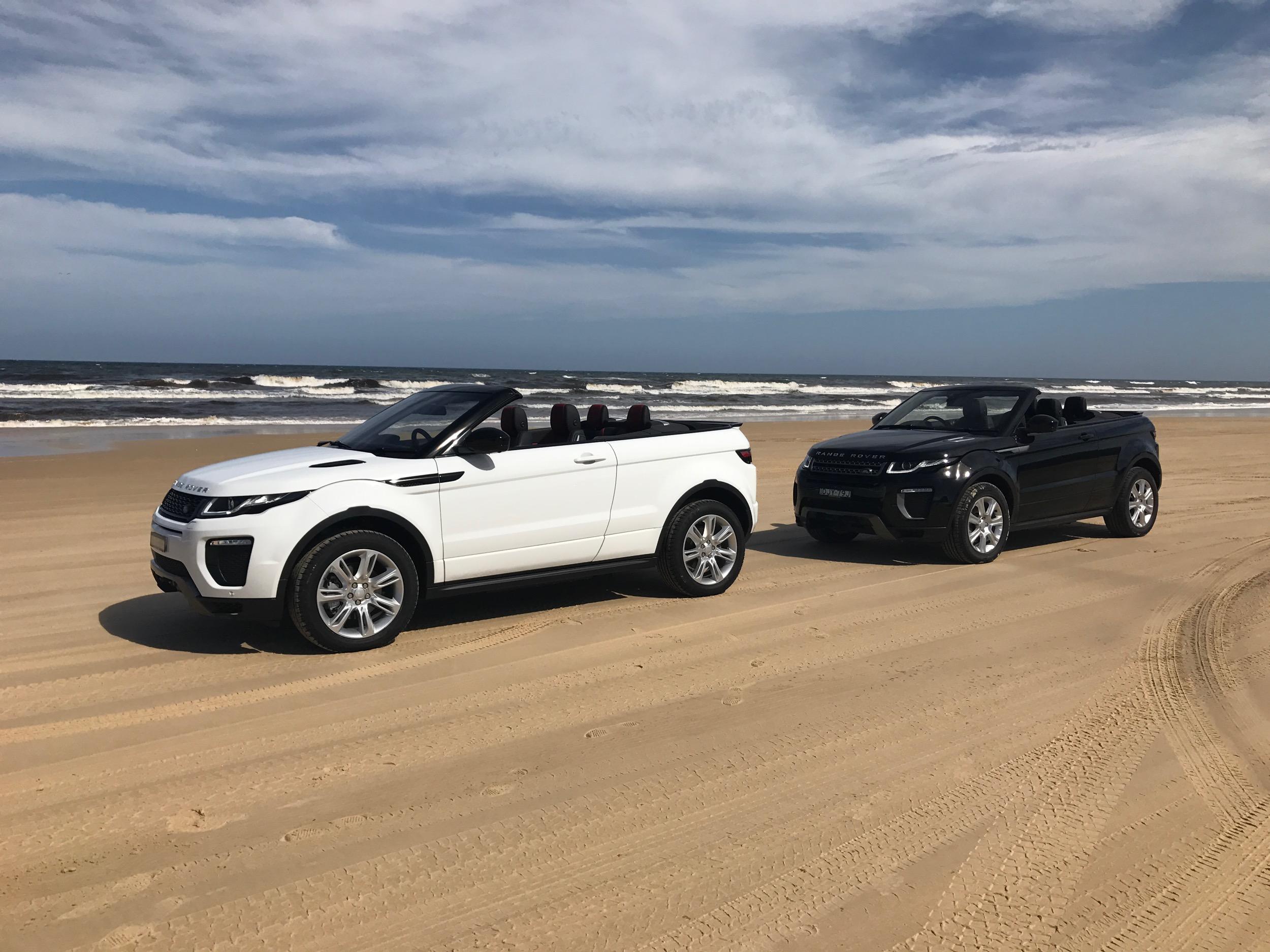 2017 Range Rover Evoque Convertible review | CarAdvice