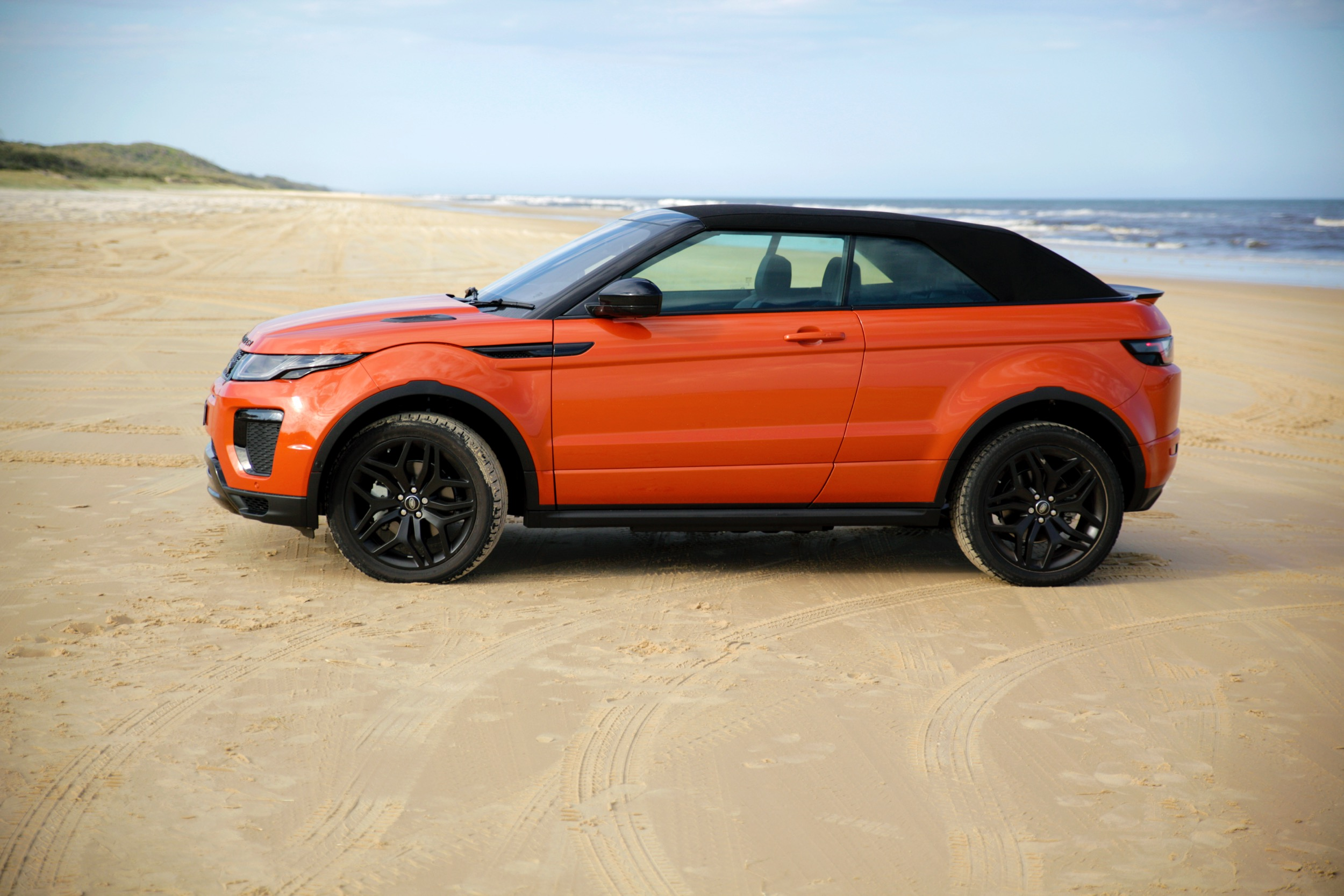 New Range Rover >> 2017 Range Rover Evoque Convertible review | CarAdvice