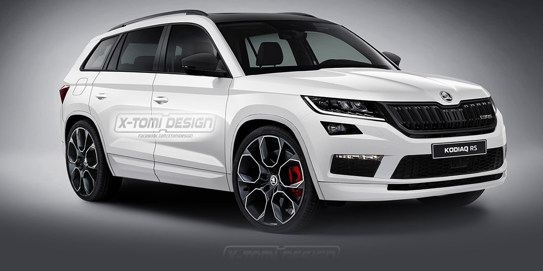 Skoda Kodiaq Rs Bi Turbo Diesel Flagship All But Confirmed Photos Caradvice