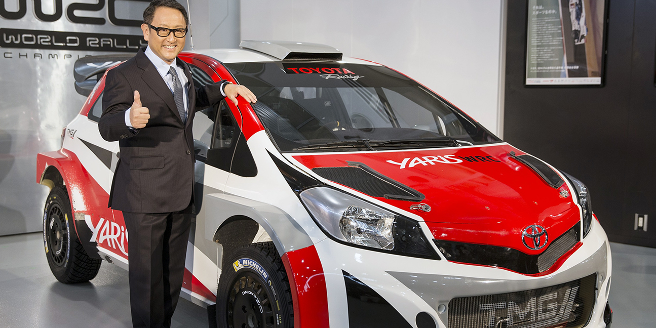 Toyota Boss Akio Toyoda To Lead The Charge On Ev