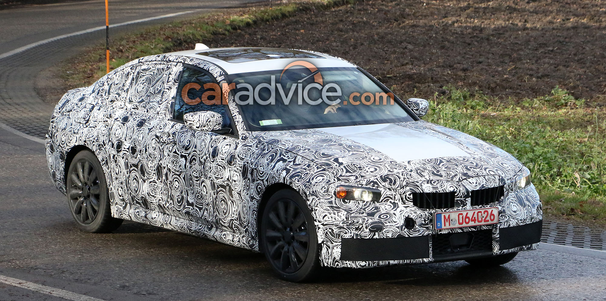 BMW Series Spied With M Sport Package - Bmw 3 series m sport package