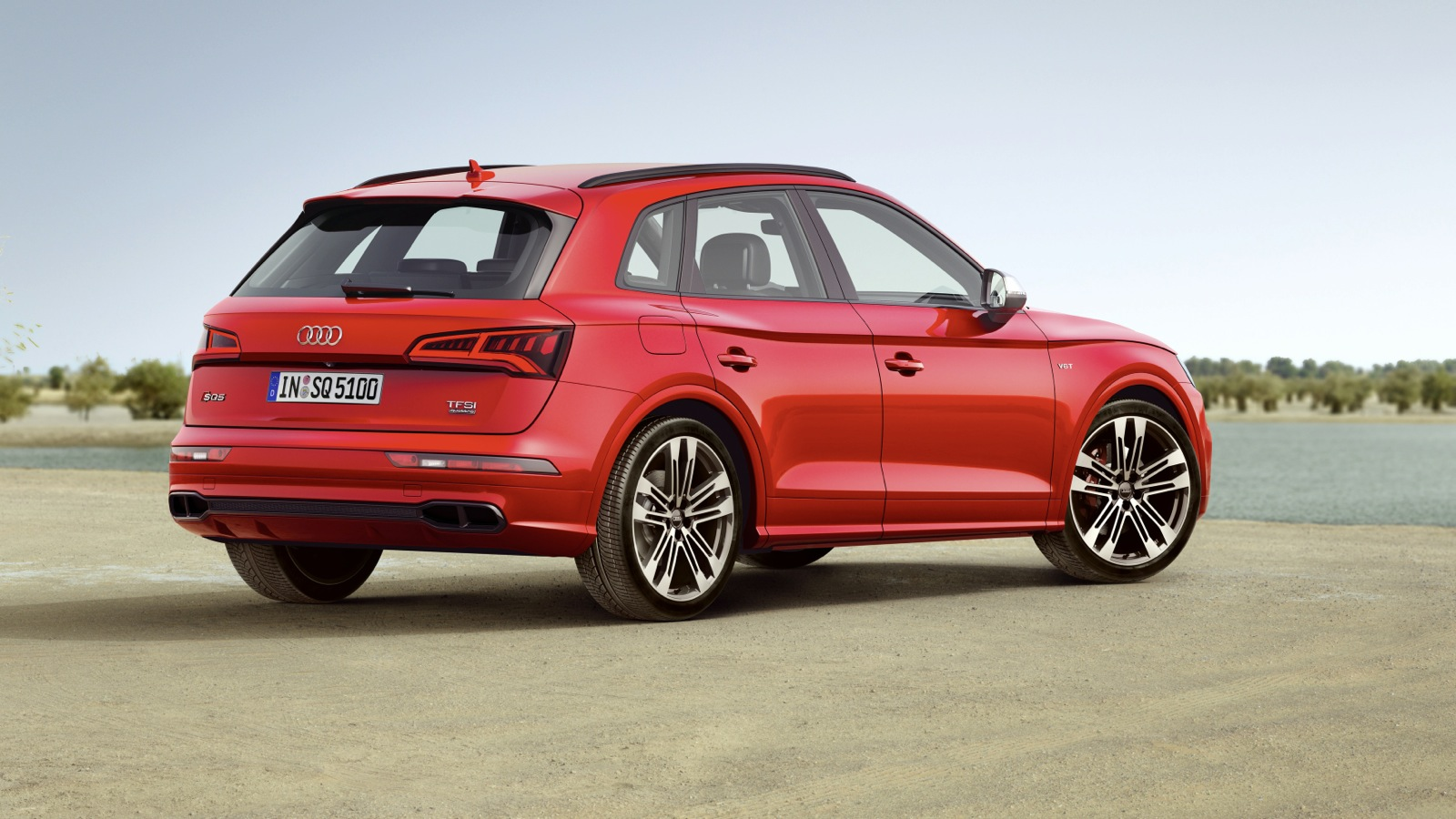 2017 audi sq5 debuts in detroit with petrol power update. Black Bedroom Furniture Sets. Home Design Ideas