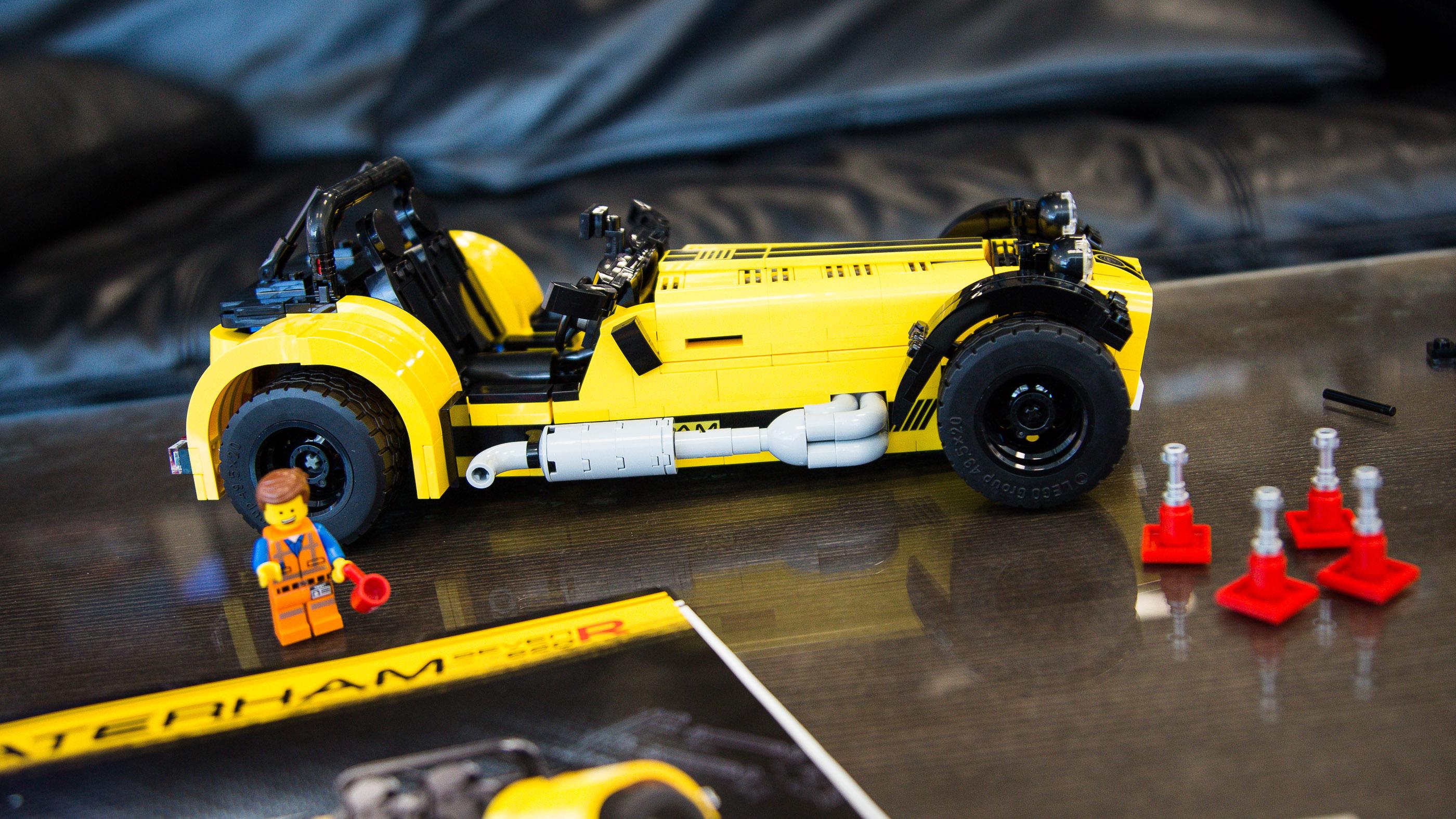 Caterham Seven R Lego