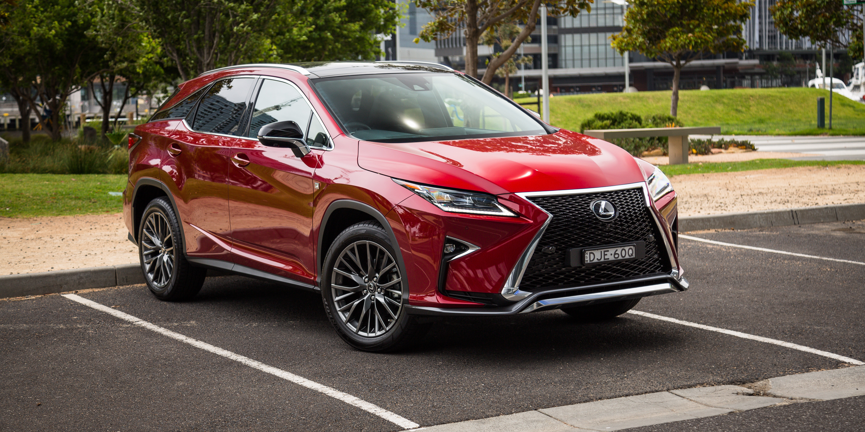 2017 lexus rx200t f sport review caradvice. Black Bedroom Furniture Sets. Home Design Ideas