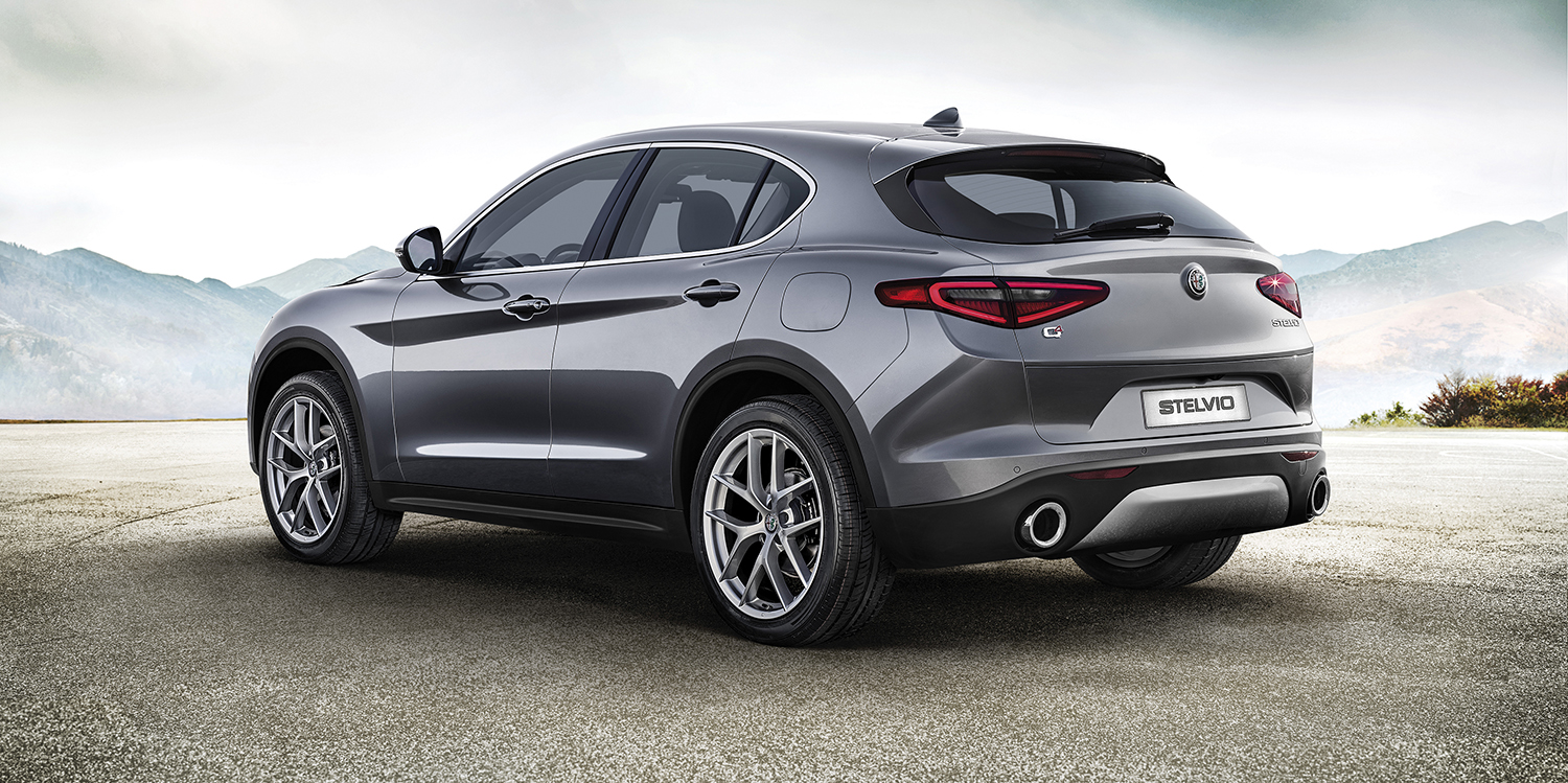 2017 alfa romeo stelvio first edition revealed photos 1 of 8. Black Bedroom Furniture Sets. Home Design Ideas