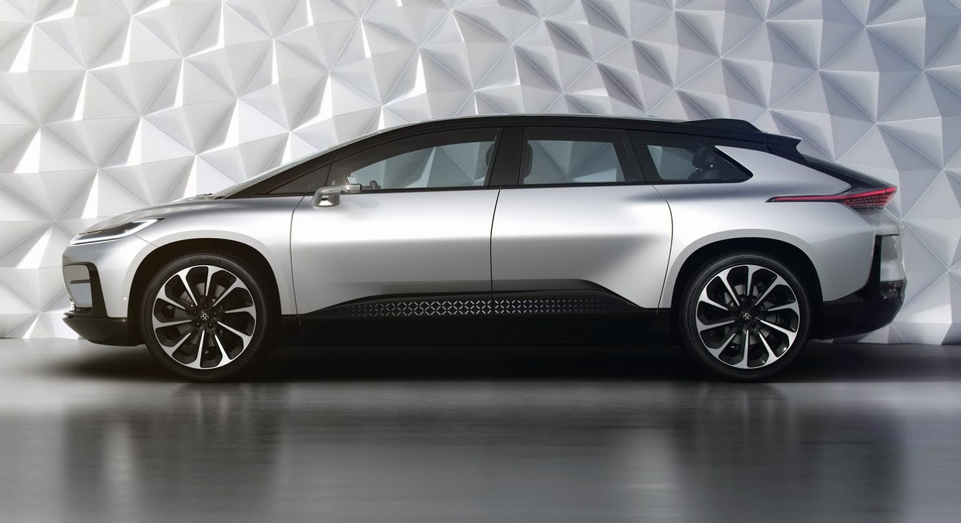 Faraday Future 91 Revealed With 600km Of Electric Range