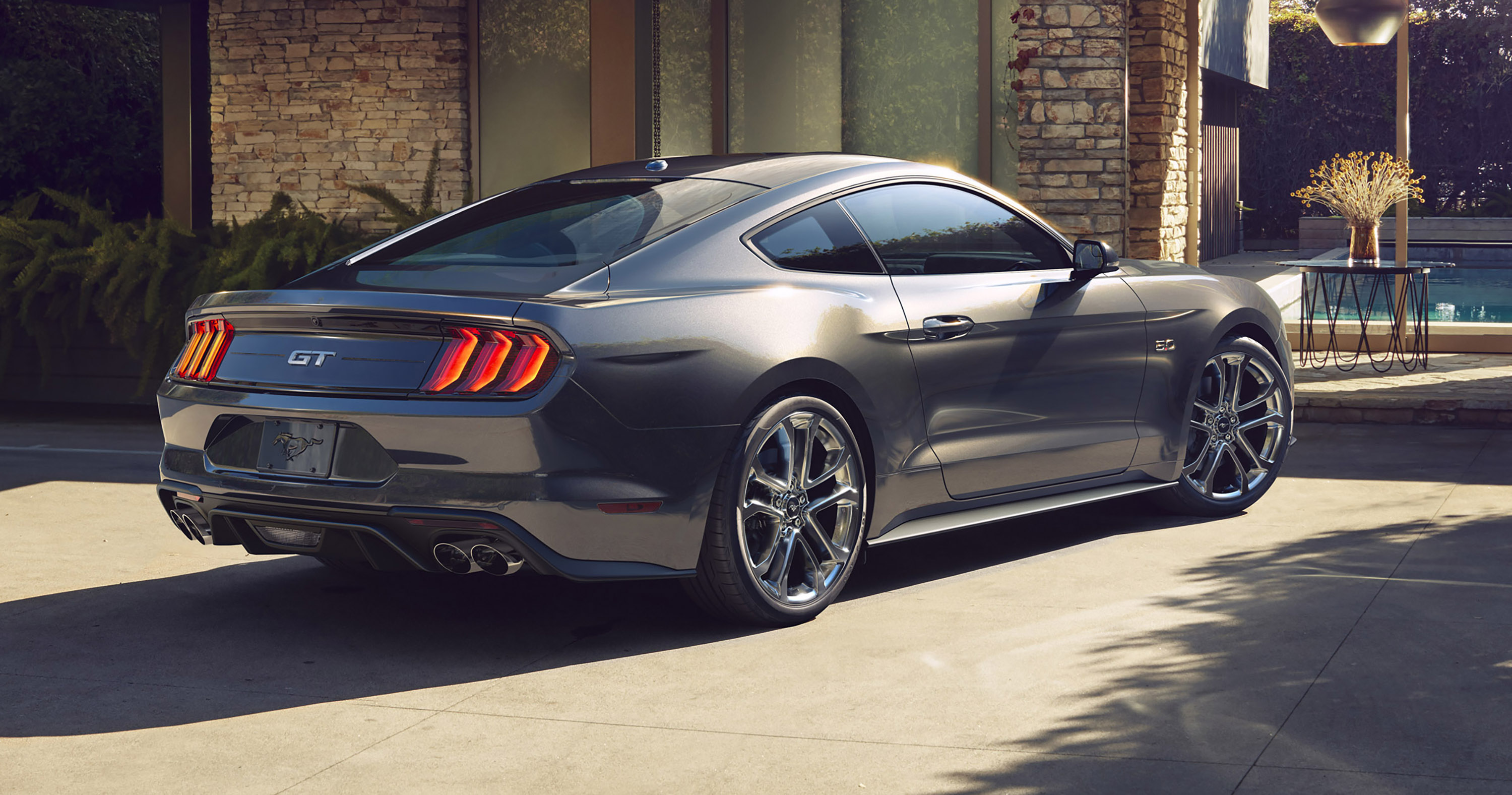 ford mustang revealed   face   power  caradvice