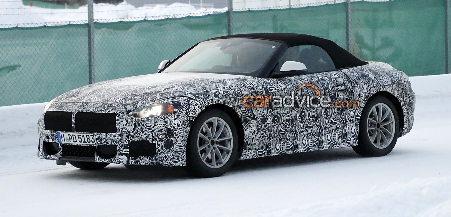 2018 Bmw Z5 Spied Photos Caradvice