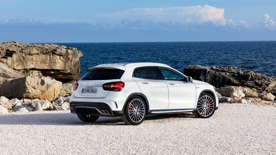 2017 Mercedes Benz Gla And Mercedes Amg Gla45 Facelifted Models Revealed Photos Caradvice