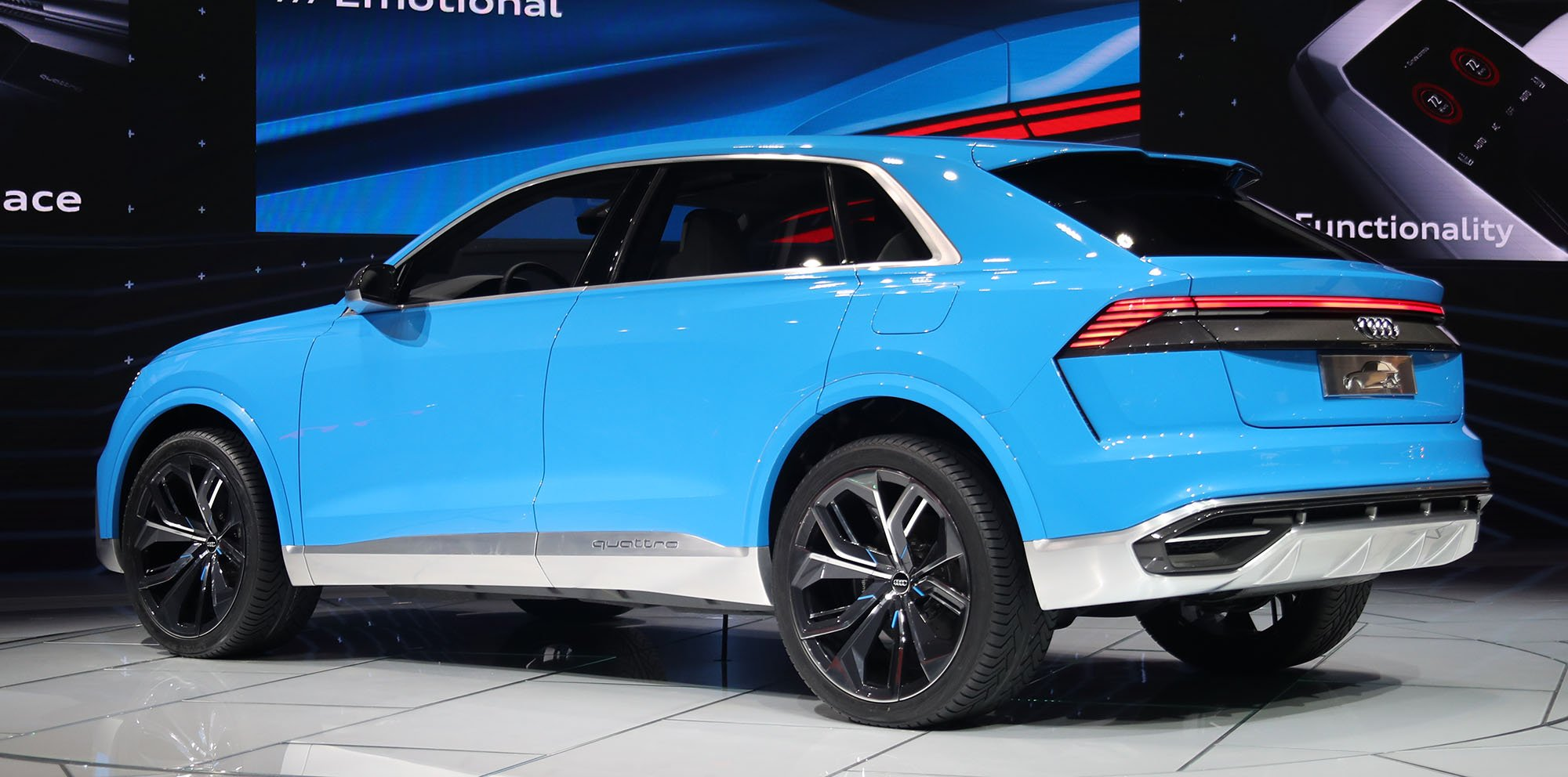 Mercedes Suv Models >> Audi Q8 concept revealed - photos | CarAdvice