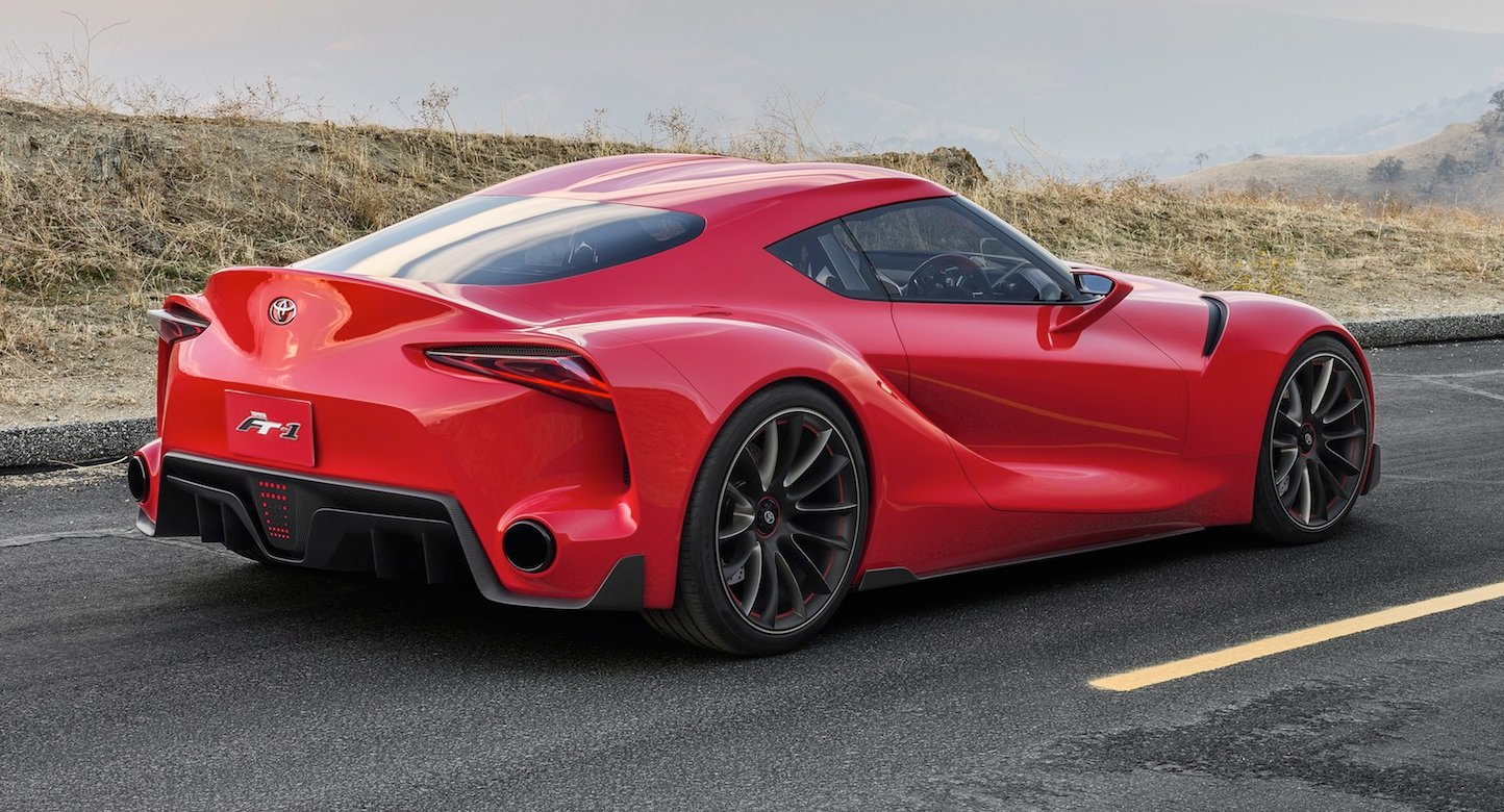 New Toyota Supra Rendered Photos 1 Of 8