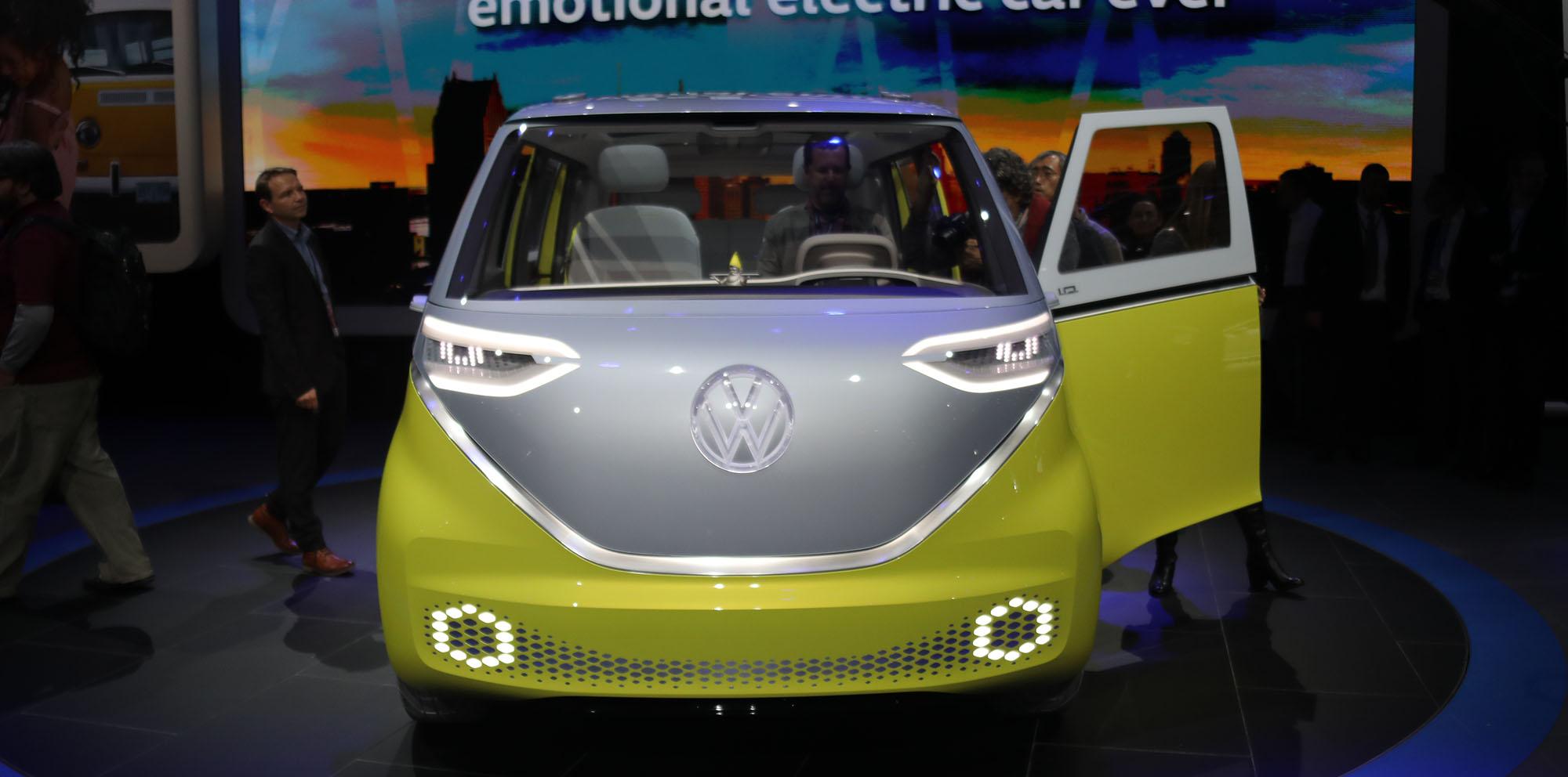Volkswagen I.D. Buzz concept revealed - photos   CarAdvice
