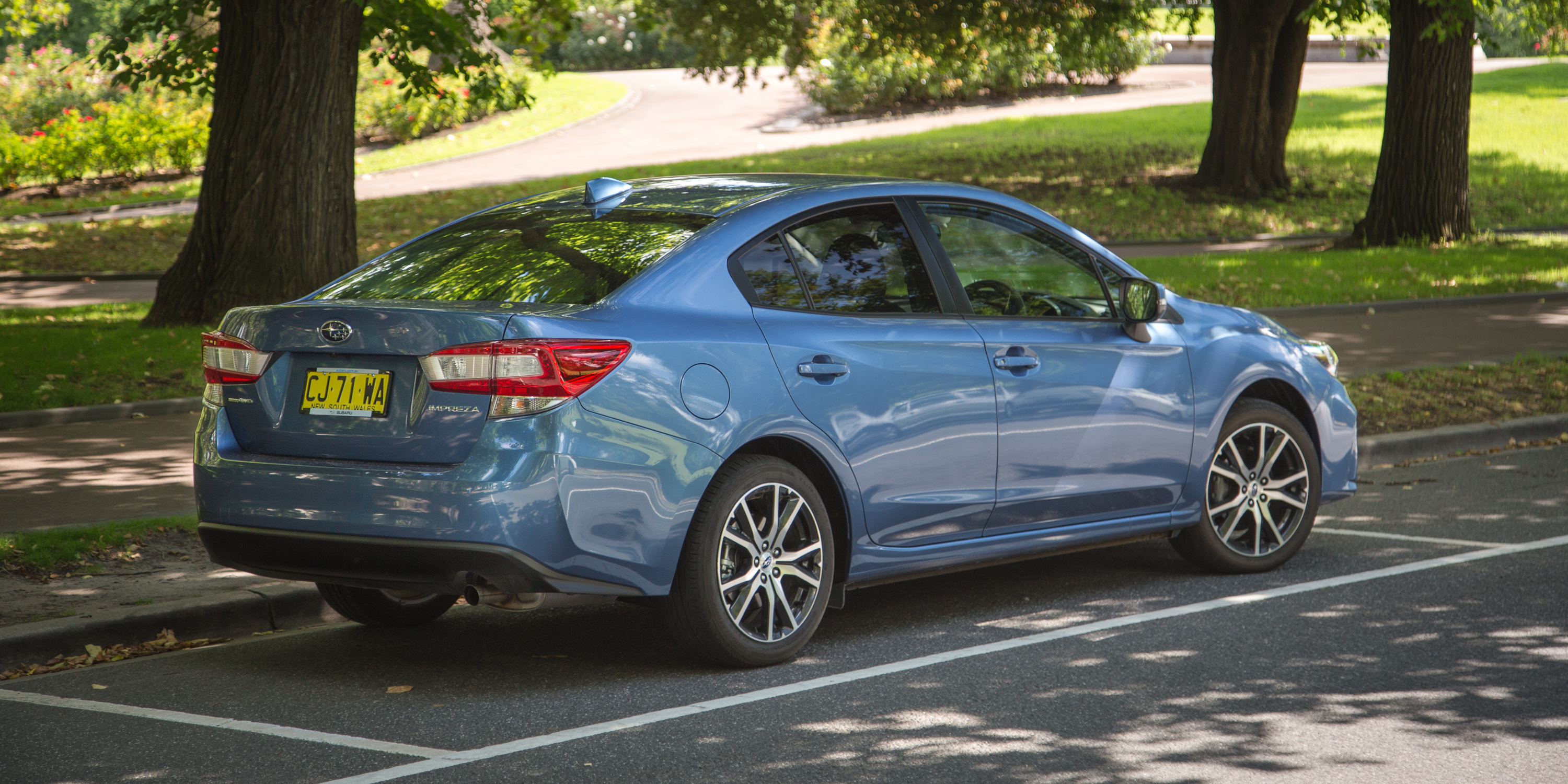 2017 Subaru Impreza 2 0i L Sedan Review Caradvice
