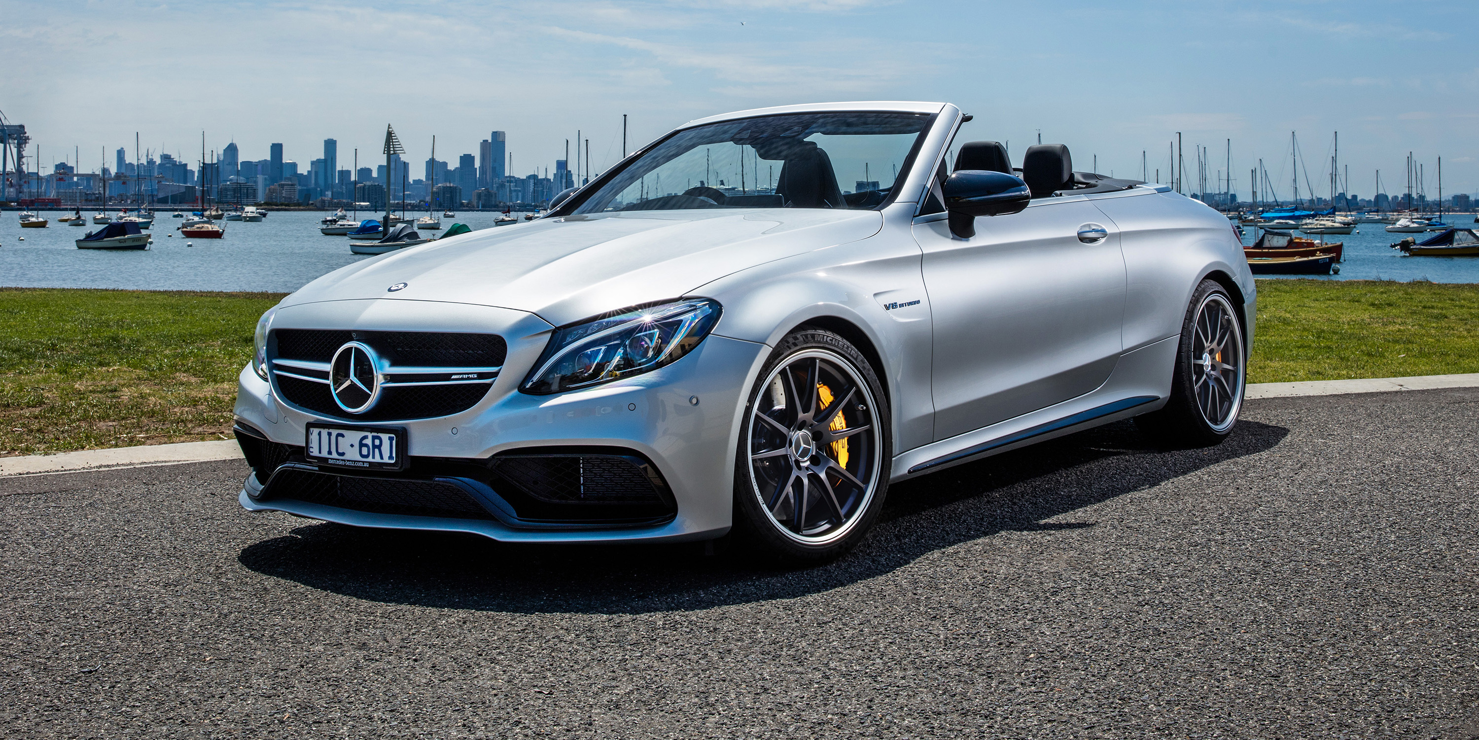 2017 mercedes amg c63 s cabriolet review photos caradvice for Mercedes benz c63 2017