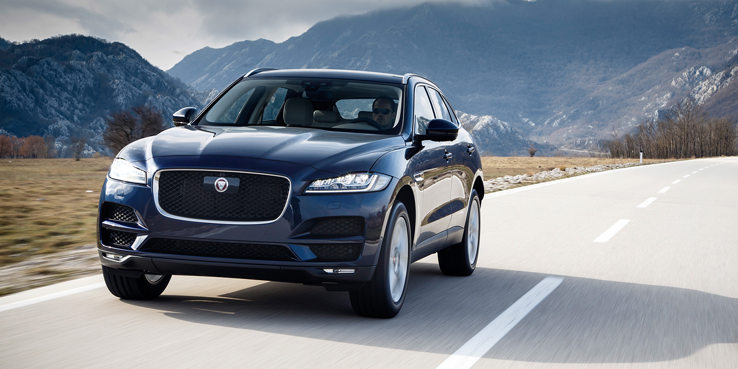2018 jaguar xe xf f pace updates announced photos. Black Bedroom Furniture Sets. Home Design Ideas