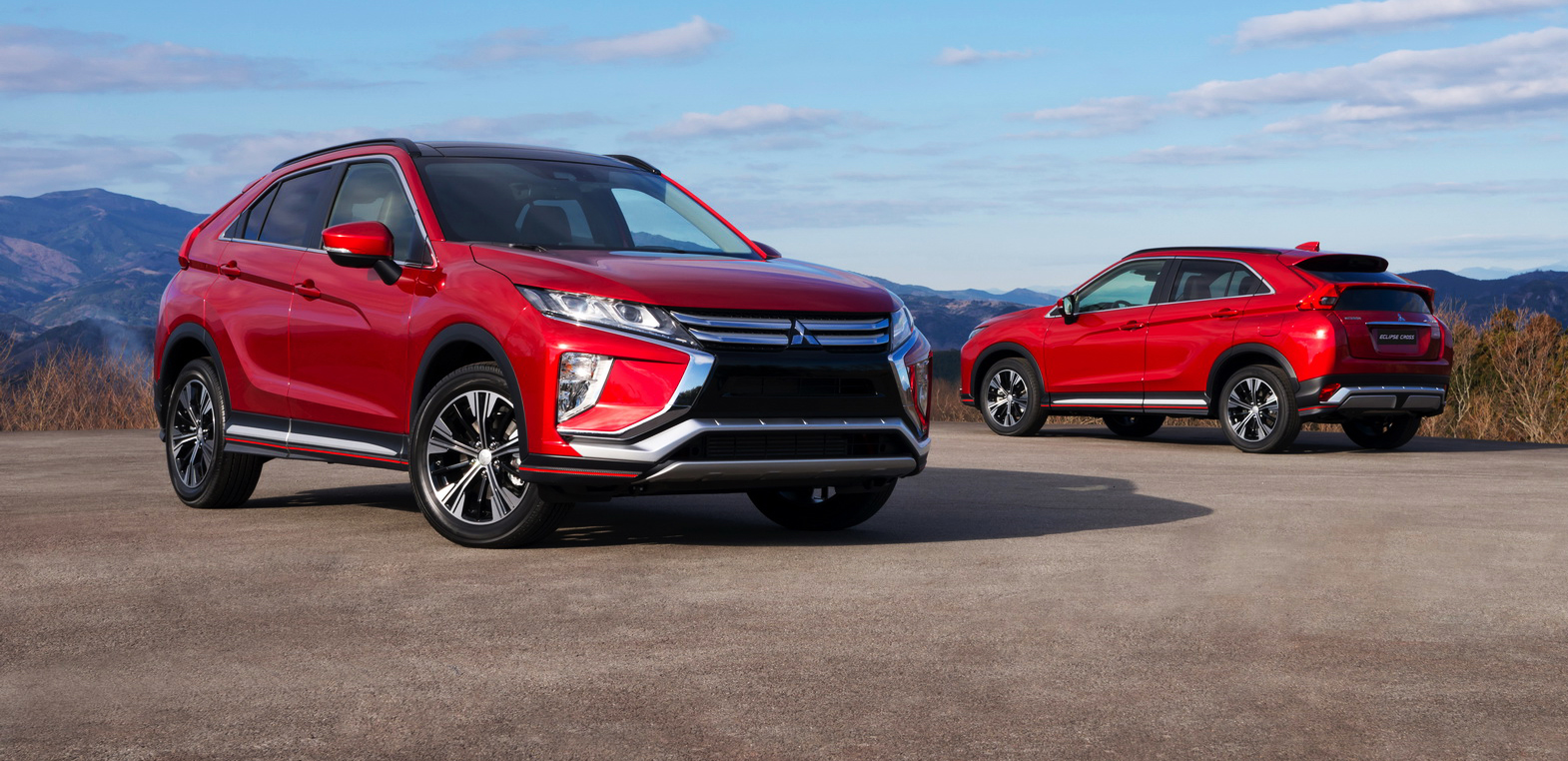 2018 Mitsubishi Eclipse Cross Revealed For Geneva Show