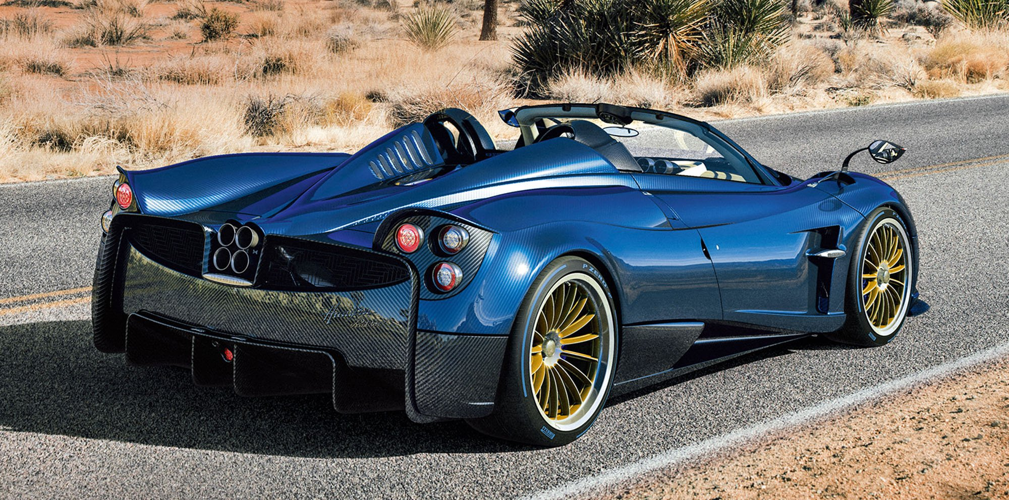 2017 Pagani Huayra Roadster Unveiled Photos