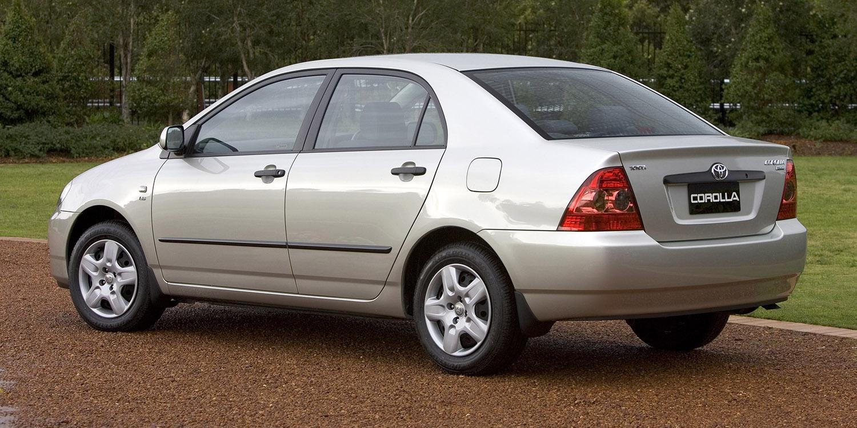 2003-2005 Toyota Corolla recalled for airbag fix - photos ...