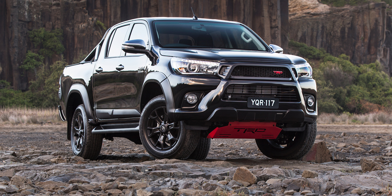 2017 Toyota HiLux TRD arrives from $58,990 - photos ...