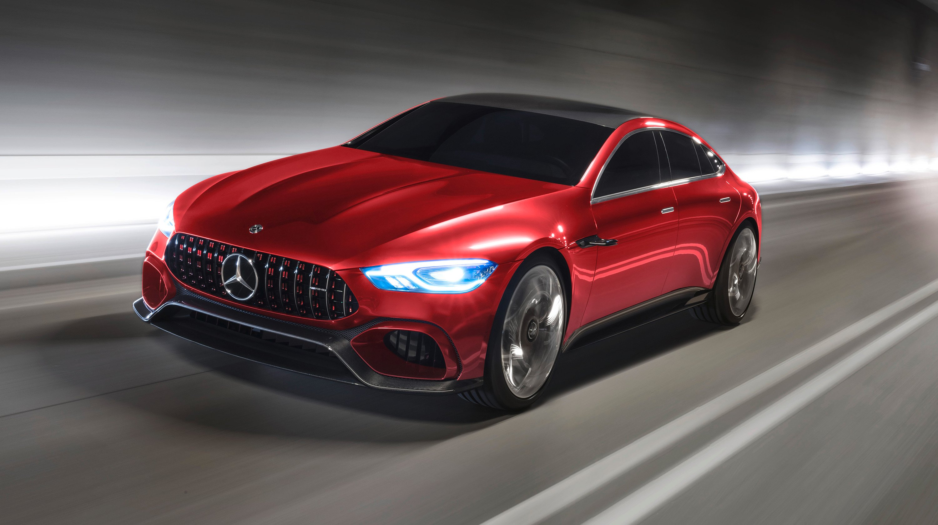 mercedes amg gt four door concept revealed photos caradvice. Black Bedroom Furniture Sets. Home Design Ideas
