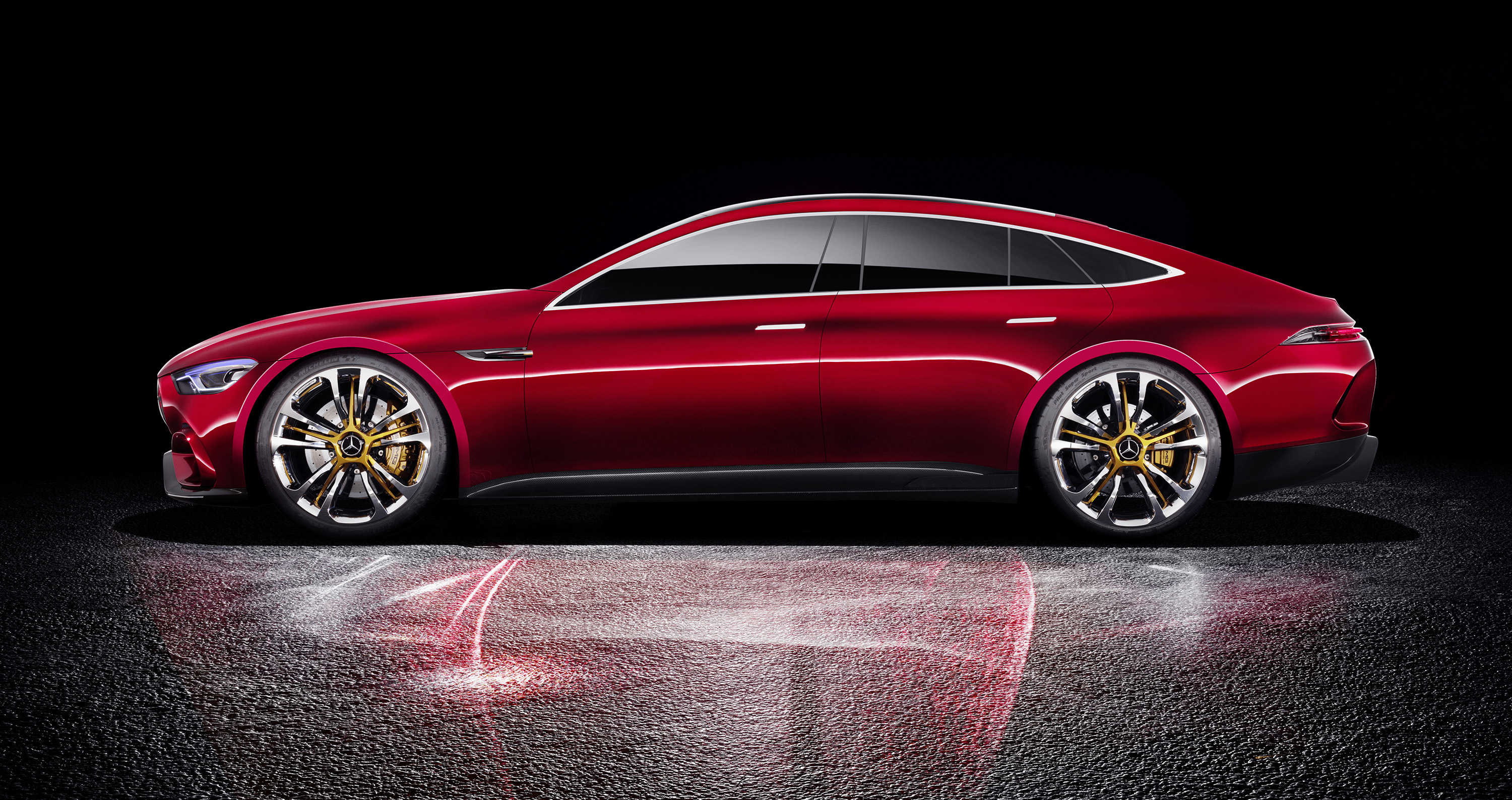 Mercedes Amg Gt Four Door Concept Revealed Photos