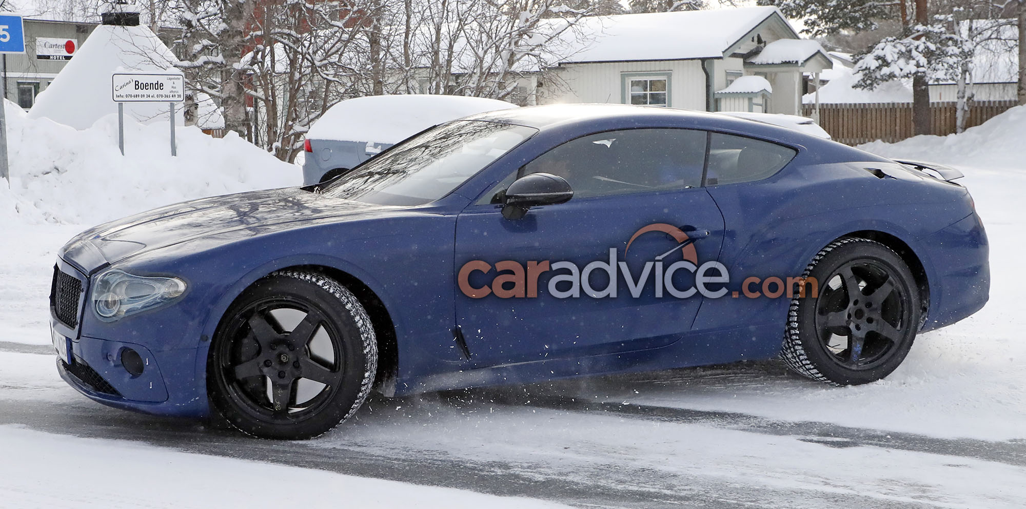 2018 Bentley Continental GT Coupe Spied With Less