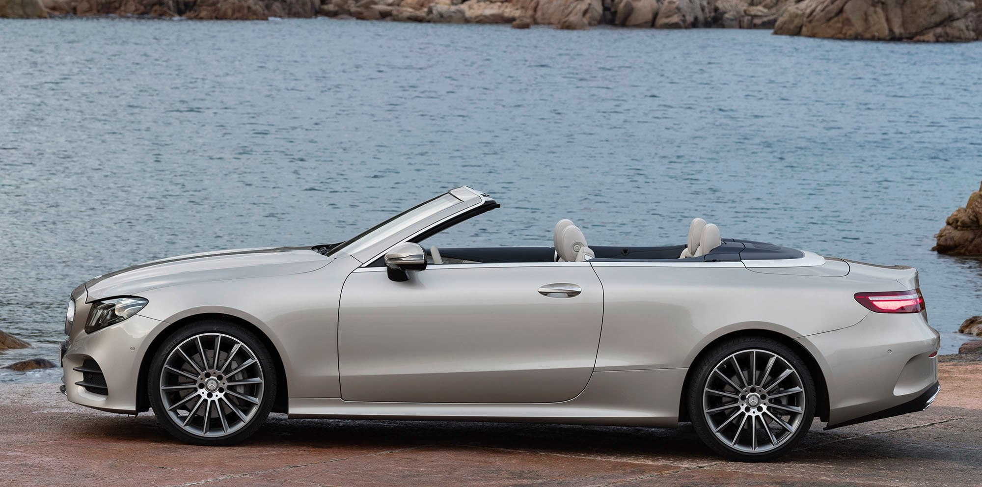 2017 mercedes benz e class cabriolet revealed   photos 1
