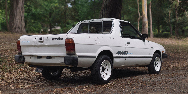 Santa Fe Honda Subaru >> Subaru Brumby leaving the River Cottage in the name of charity - photos | CarAdvice