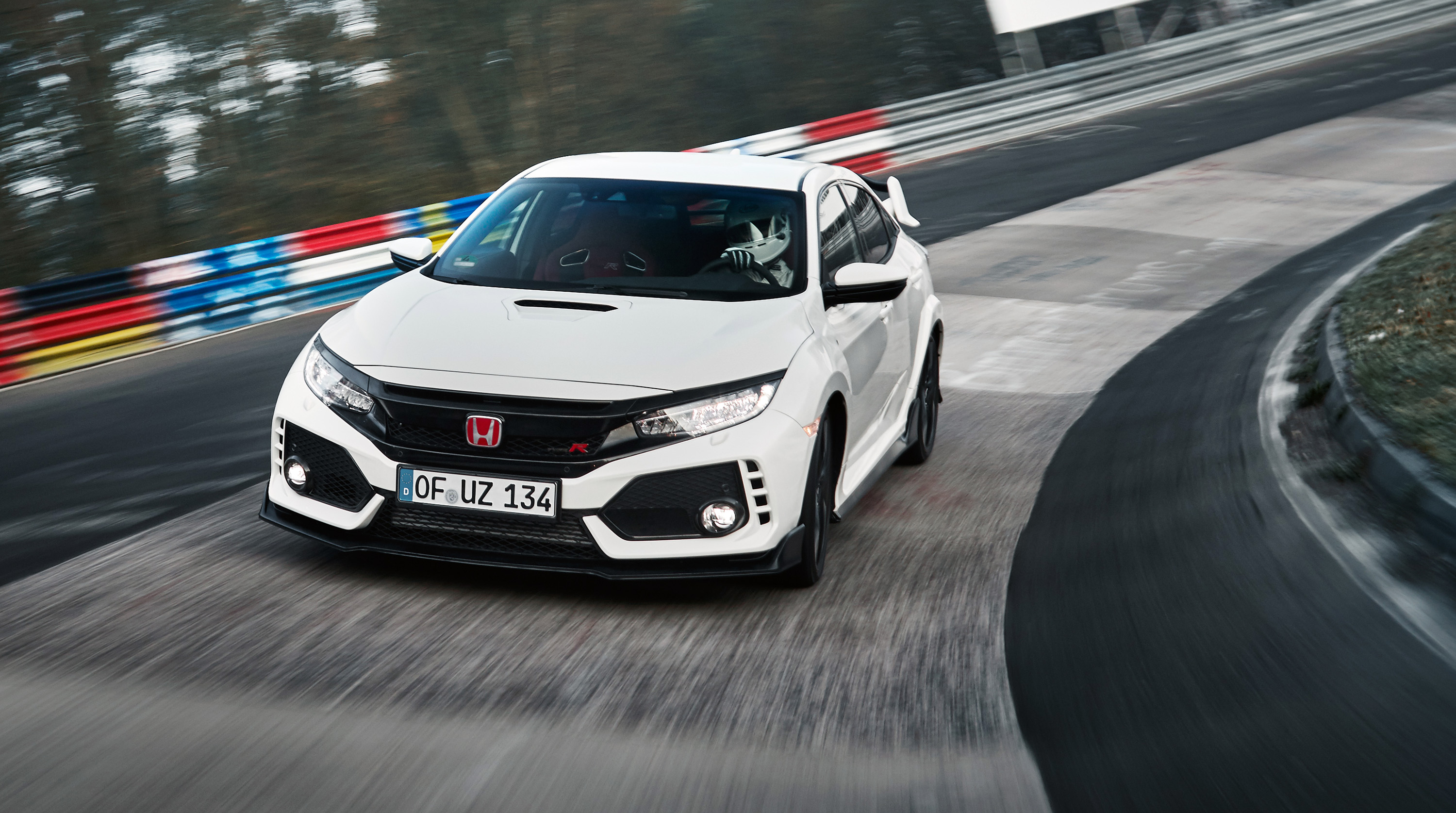 2018 Honda Civic Type R sets Nurburgring lap record ...