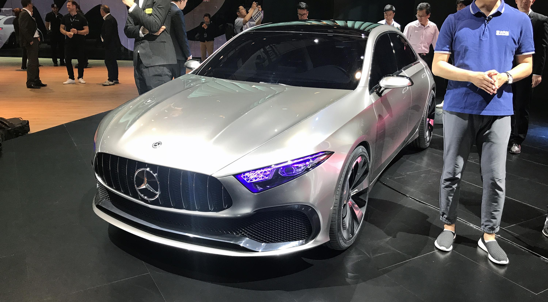 Ford Mustang Concept 2017 >> 2018 Mercedes-Benz A-Class sedan concept revealed - photos | CarAdvice