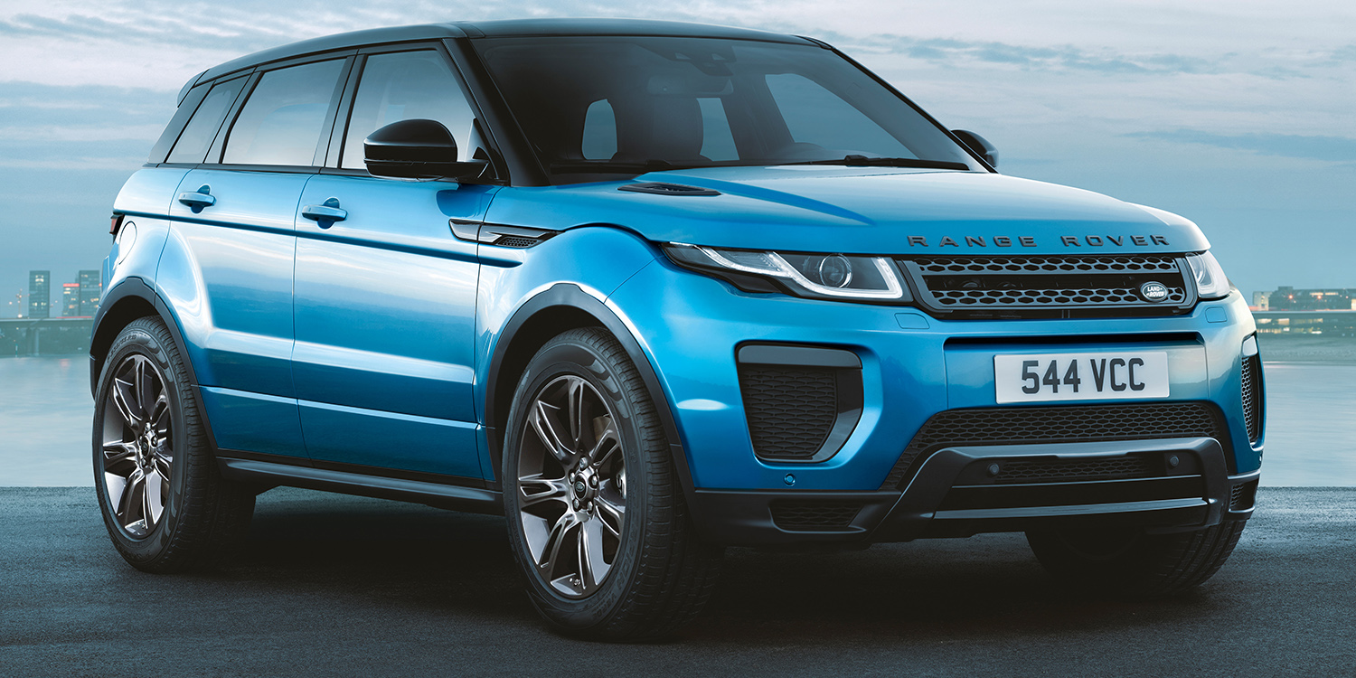 2017 Range Rover Evoque Landmark Special Edition Revealed