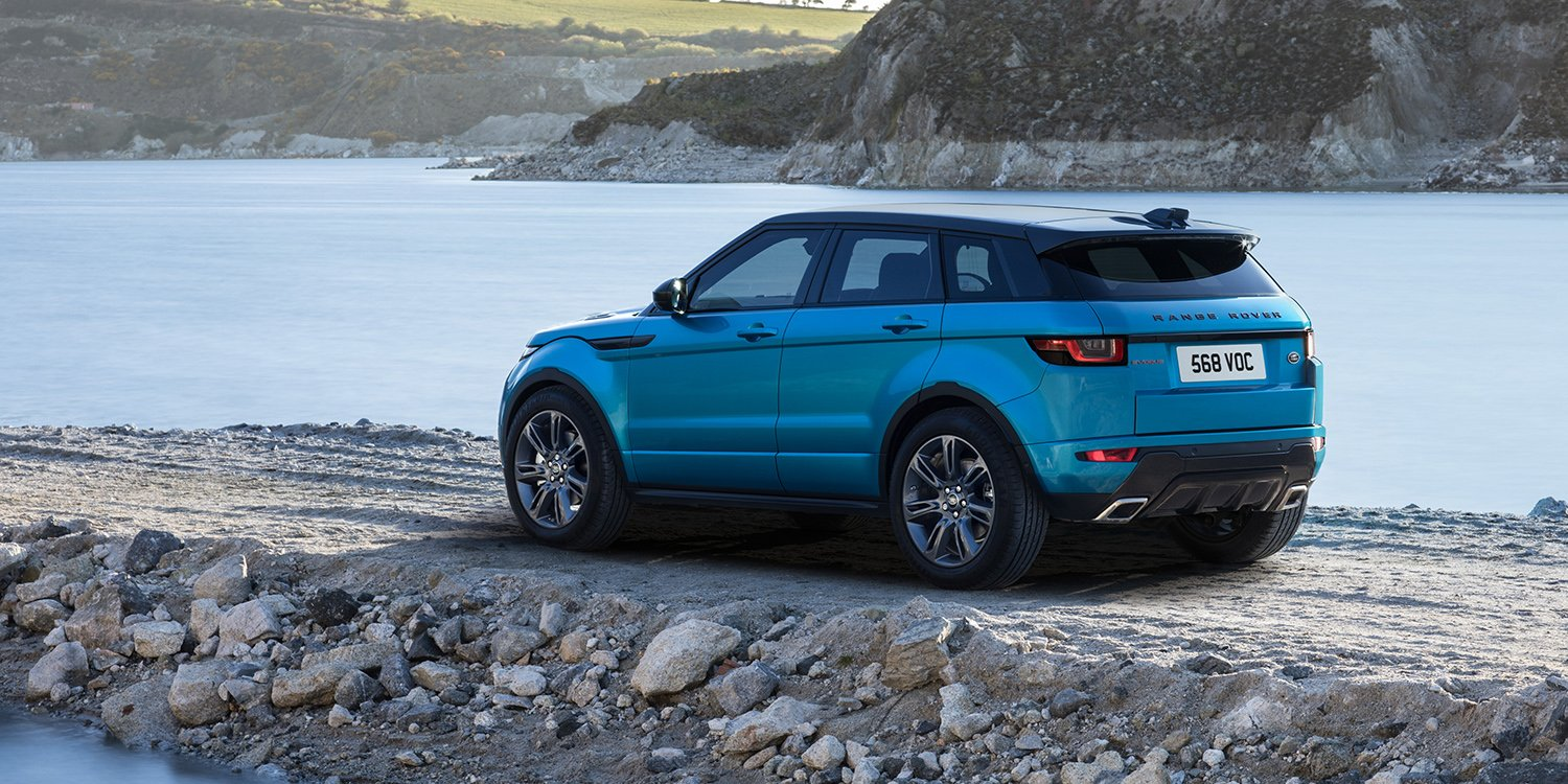 Range Rover Evoque Convertible >> 2017 Range Rover Evoque Landmark special edition revealed, available to order now - UPDATE ...