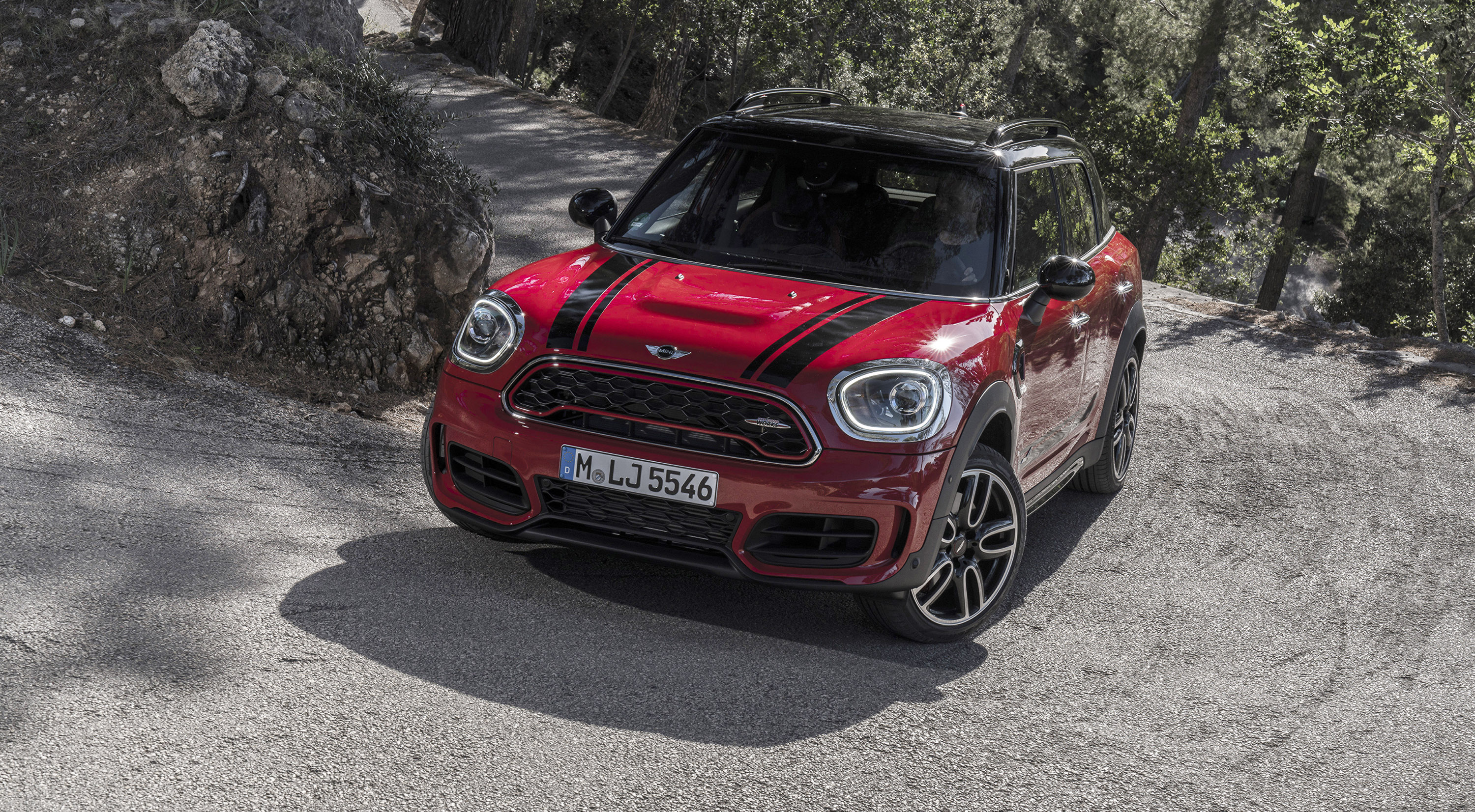 2017 mini jcw countryman pricing and specs photos caradvice. Black Bedroom Furniture Sets. Home Design Ideas
