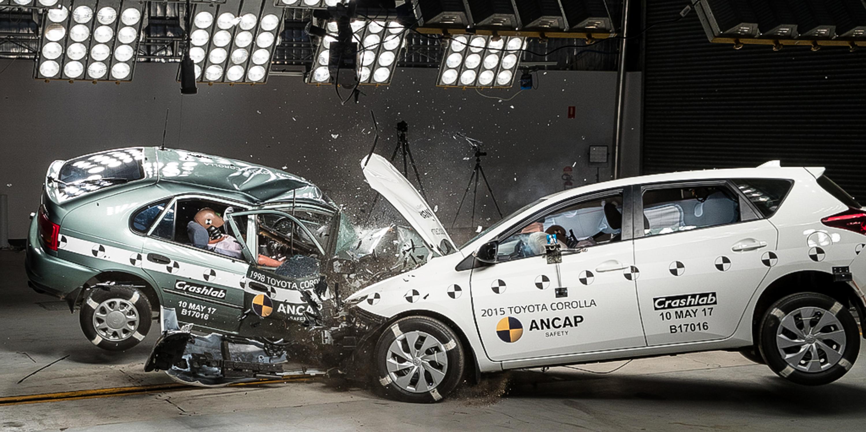 ANCAP: Shocking old v new crash test highlights ominous ...