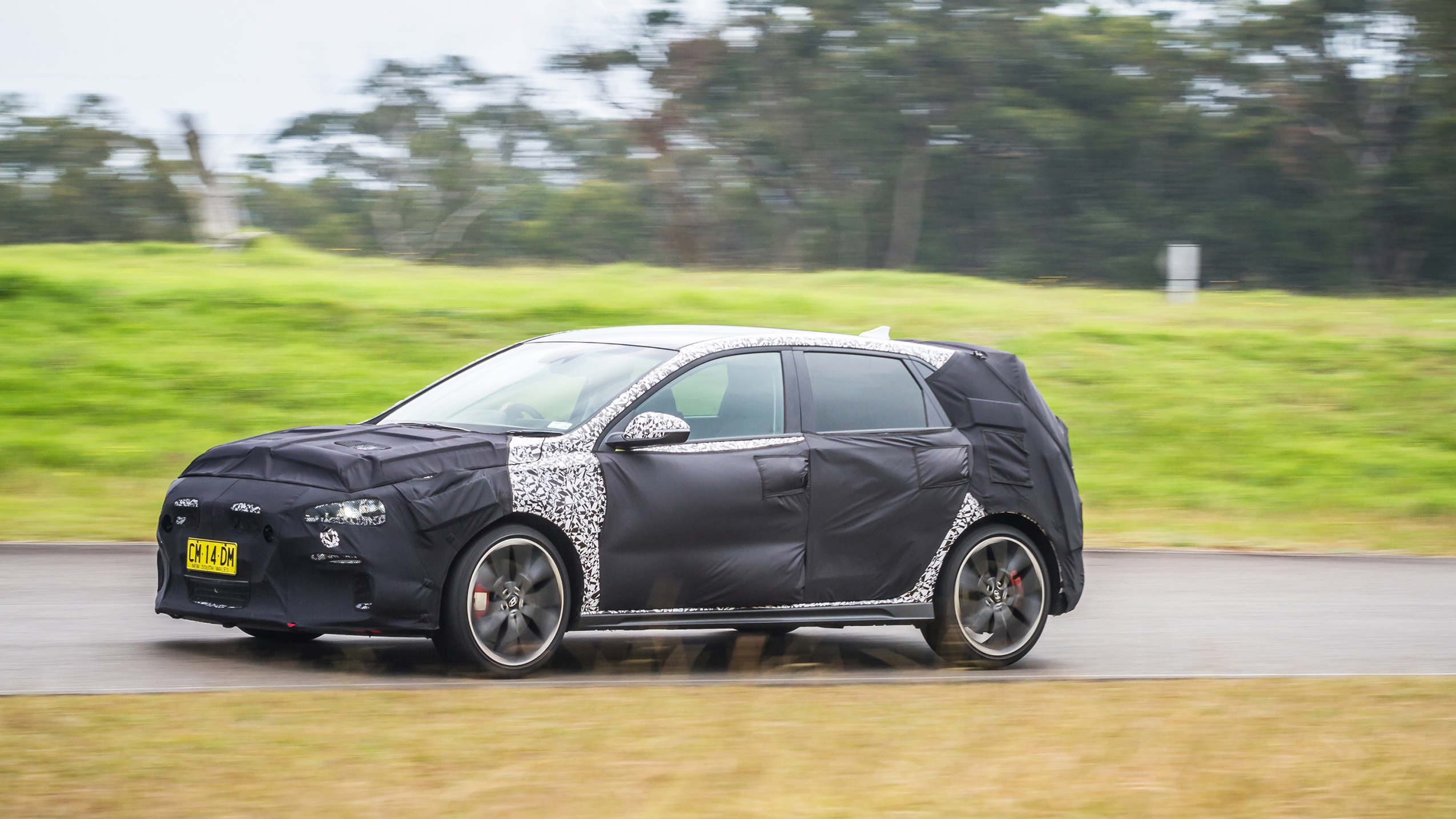 2018 hyundai i30 n review the prototype drive caradvice. Black Bedroom Furniture Sets. Home Design Ideas