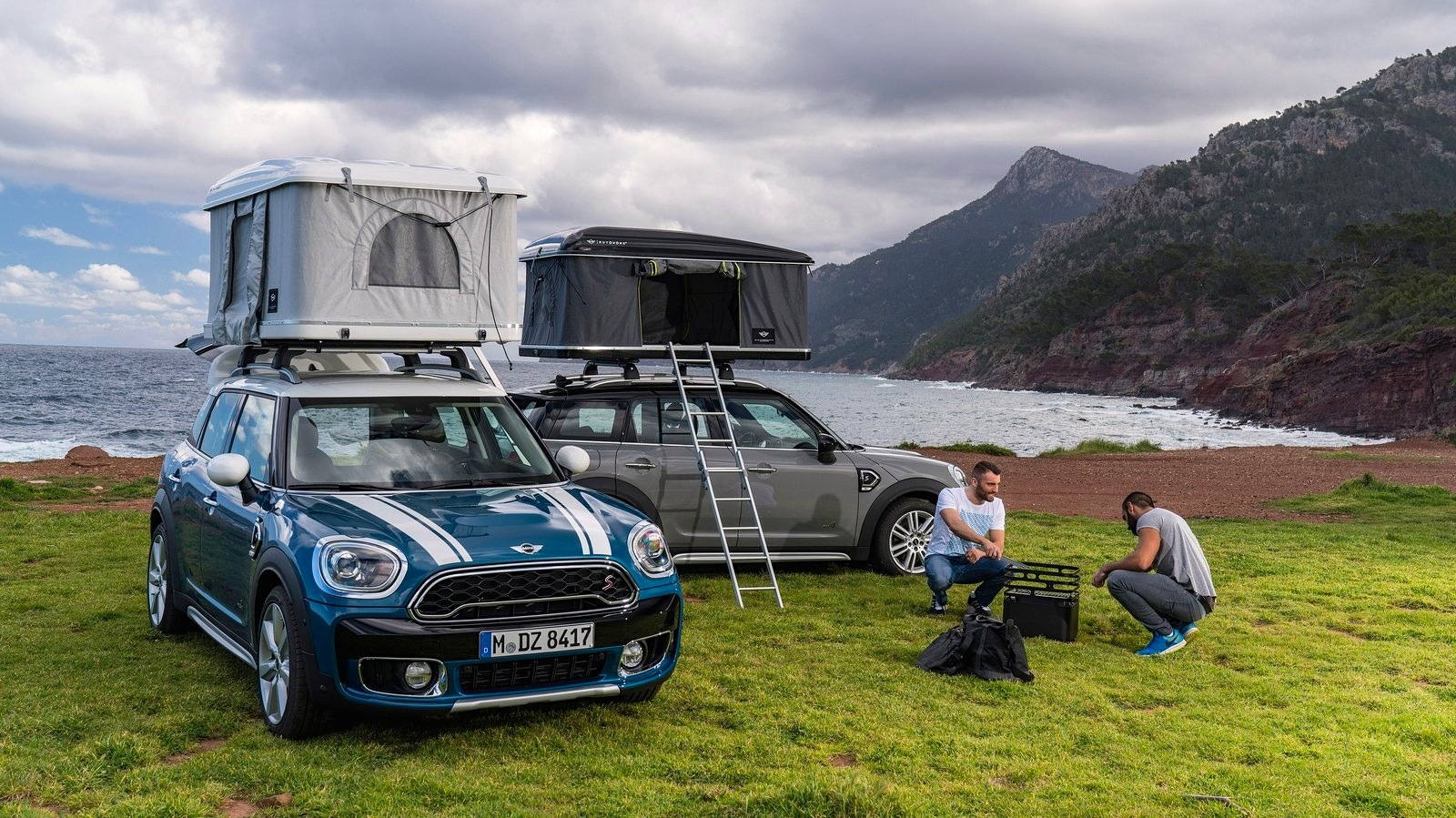 Mini Countryman rooftop tent option revealed & Countryman rooftop tent option revealed