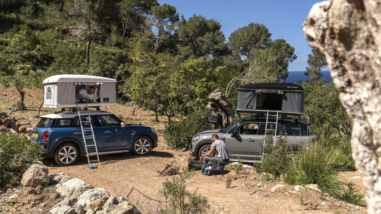 Mini Countryman rooftop tent option revealed & Mini Countryman rooftop tent option revealed - Photos (1 of 3)