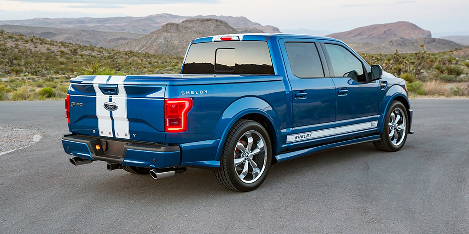 Shelby reveals Mustang Super Snake concept, F-150 Super ...