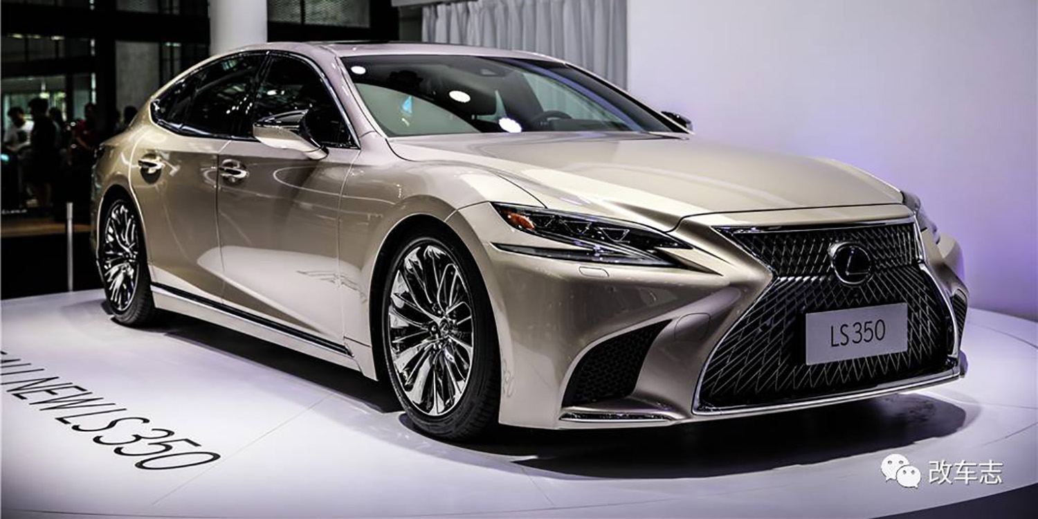 Toyota Supra Top View >> 2018 Lexus LS350 debuts in China, not for Australia - UPDATE - photos | CarAdvice