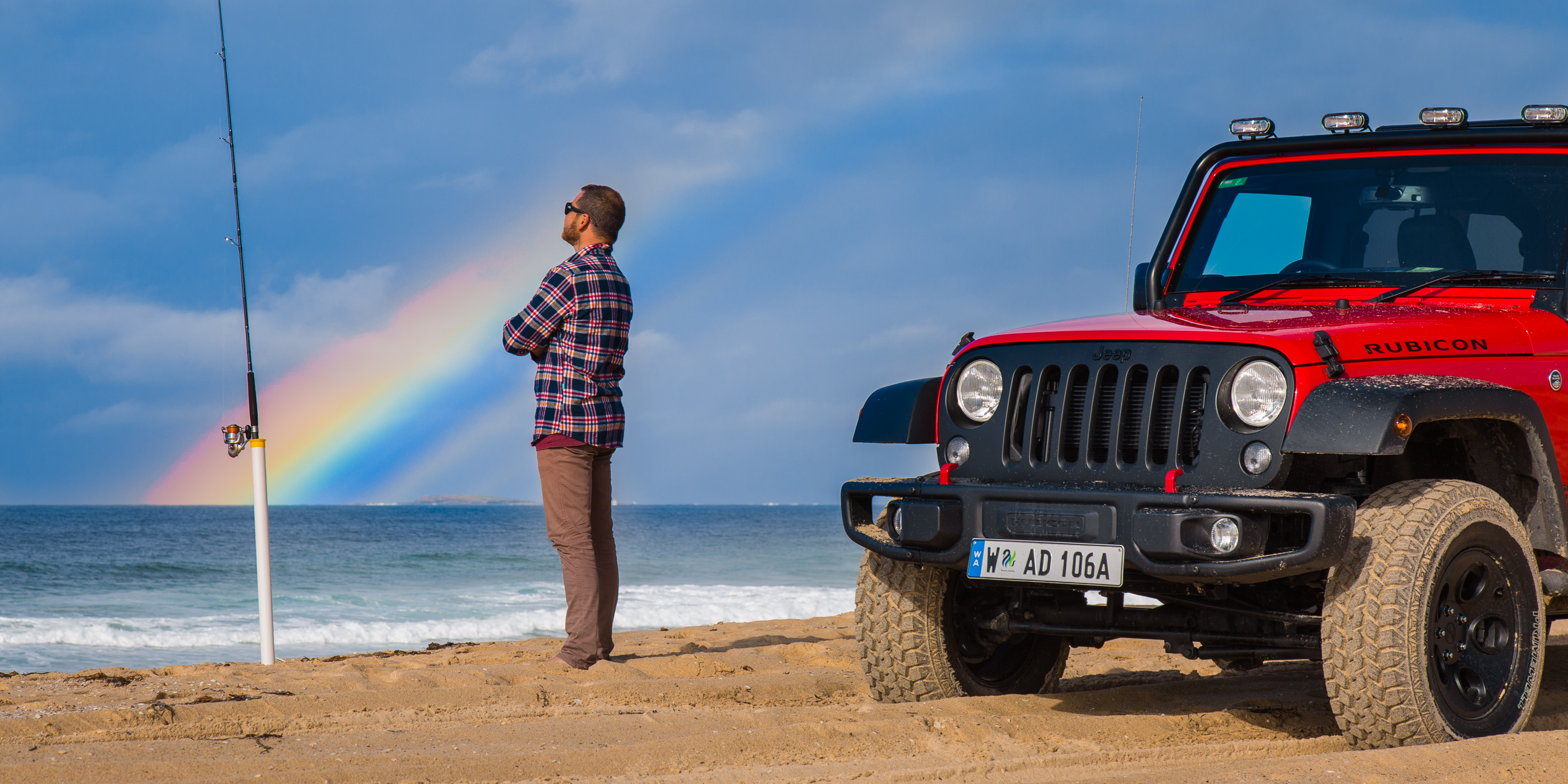 hitting the beach in the 2017 jeep wrangler unlimited rubicon photos. Black Bedroom Furniture Sets. Home Design Ideas