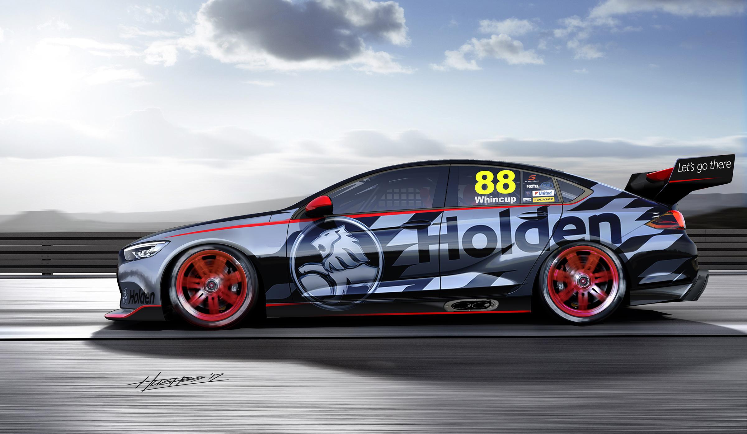 2018 Holden Commodore racer revealed for Australian ...