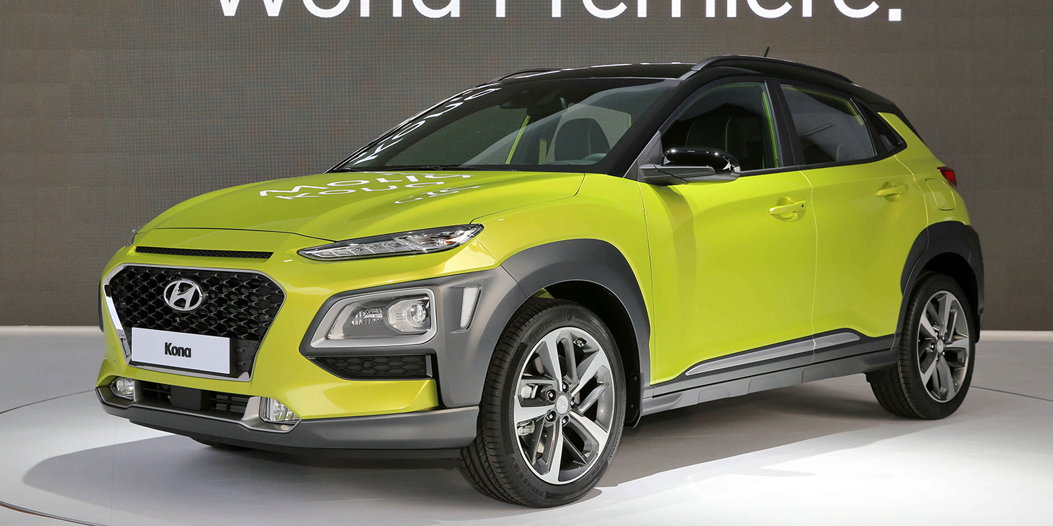 Hyundai Kona EV due in 2018, 390km range targeted - photos ...